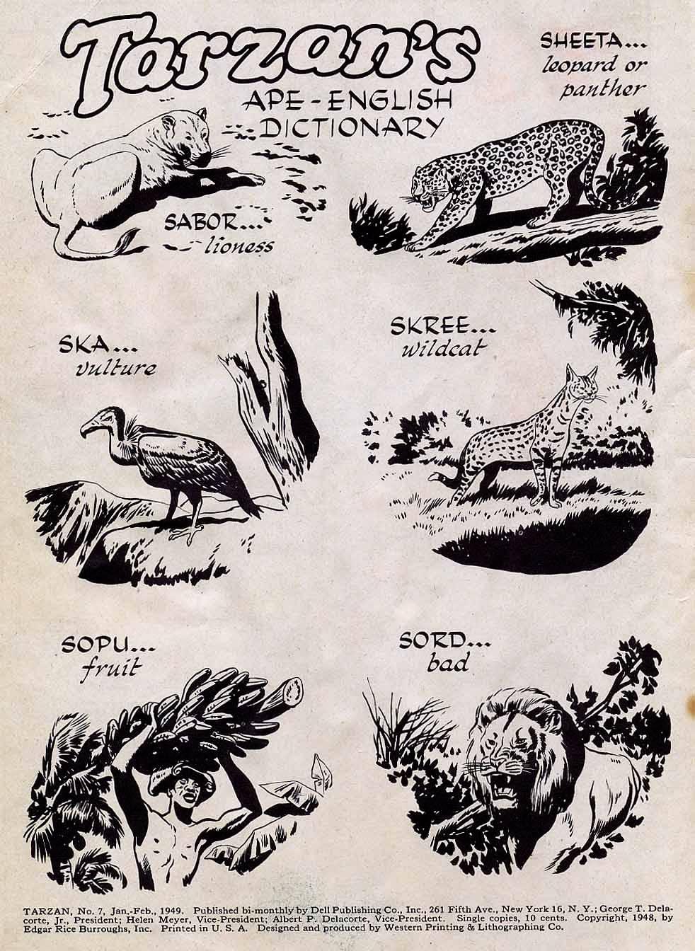 Tarzan (1948) issue 7 - Page 2