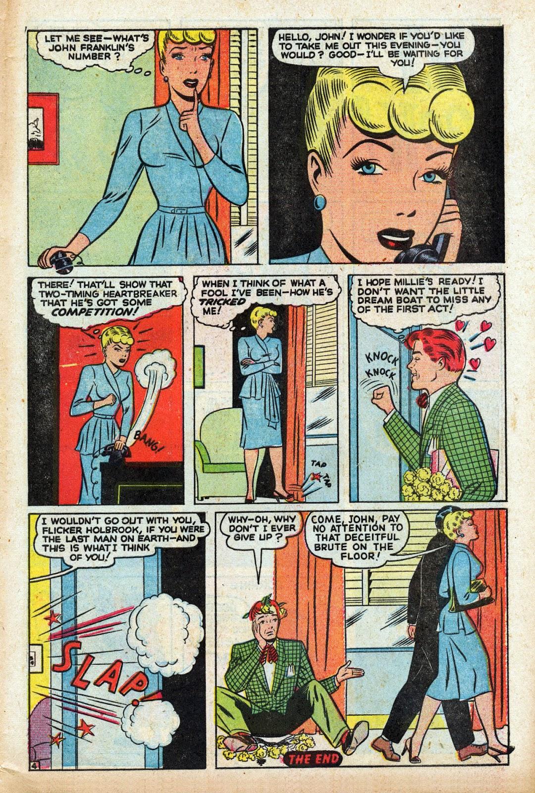 Read online Comedy Comics (1948) comic -  Issue #3 - 31