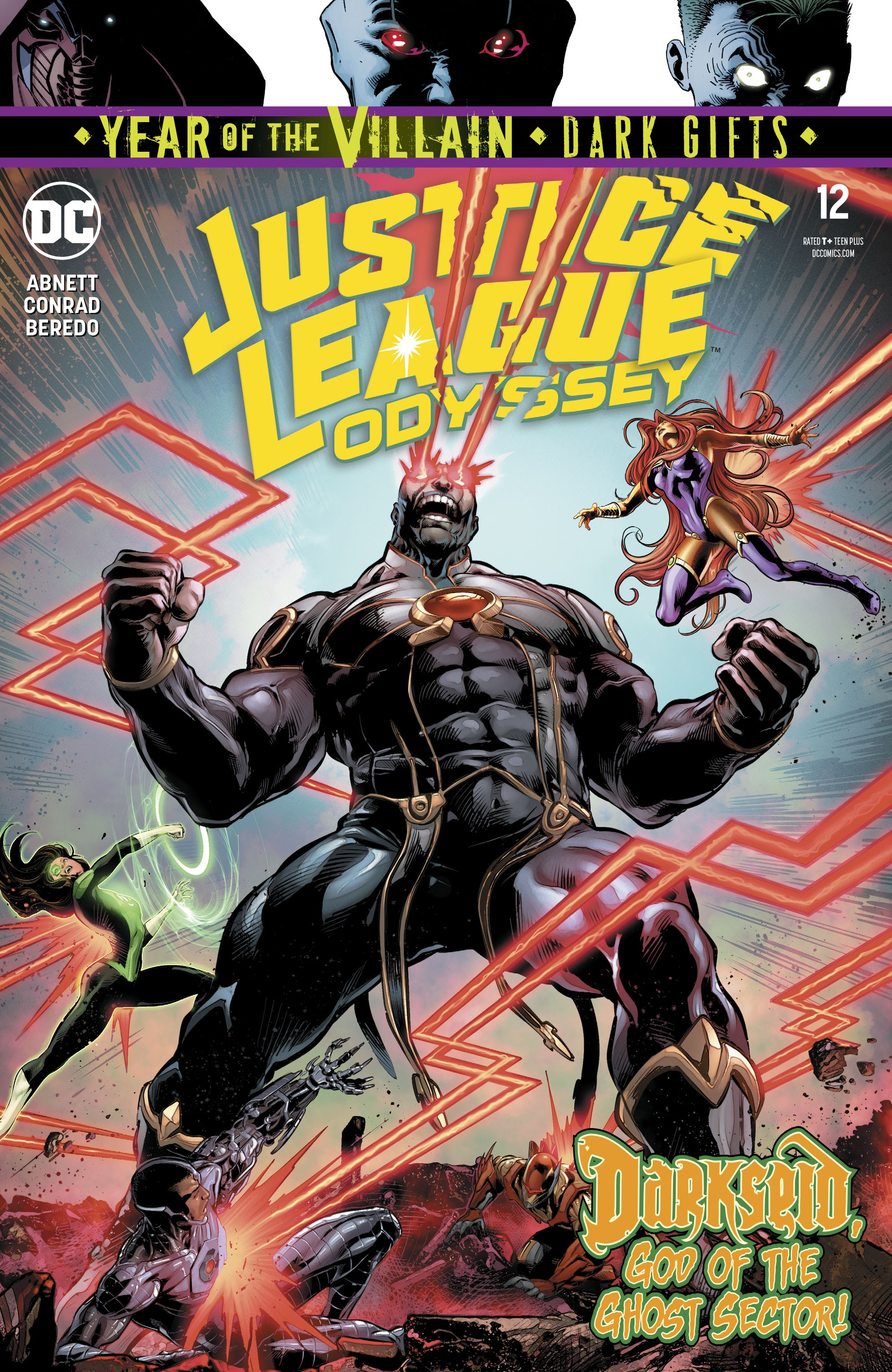 Justice League Odyssey 12 Page 1