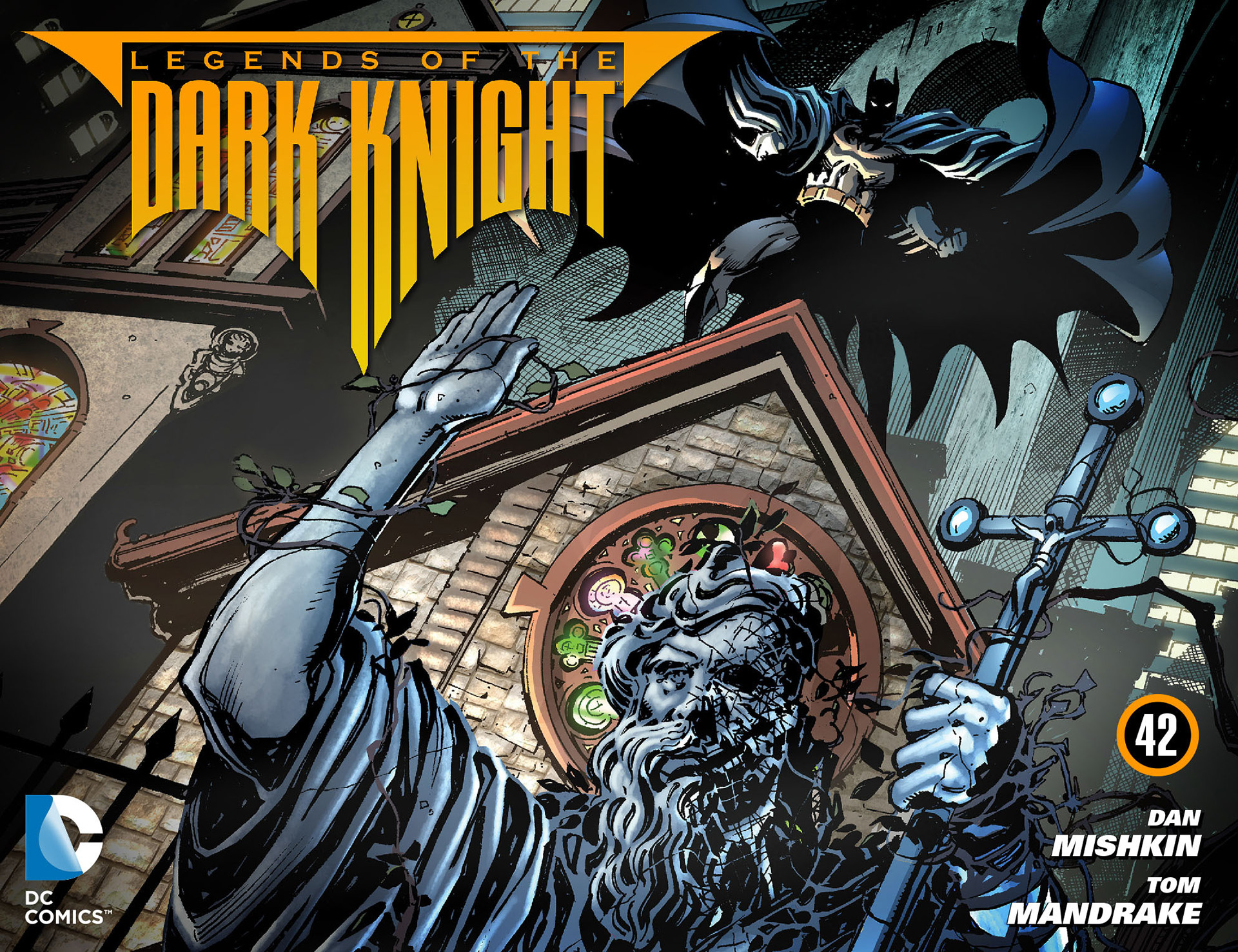 Legends of the Dark Knight [I] issue 42 - Page 1