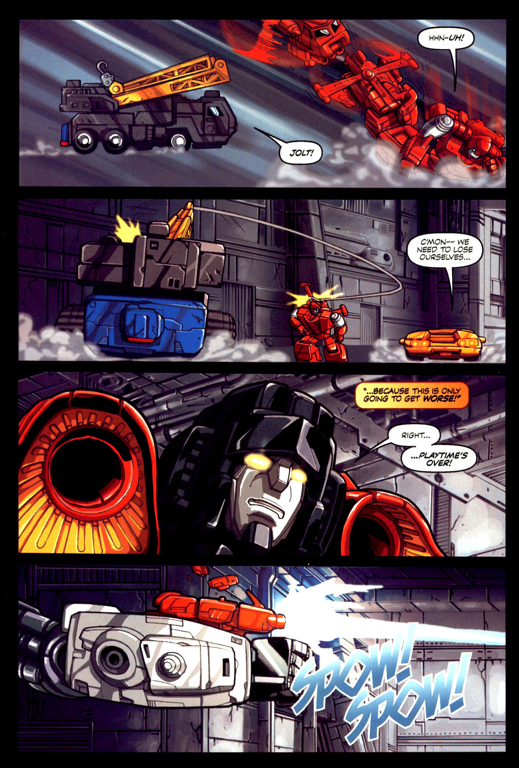 Read online Transformers Armada comic -  Issue #6 - 21