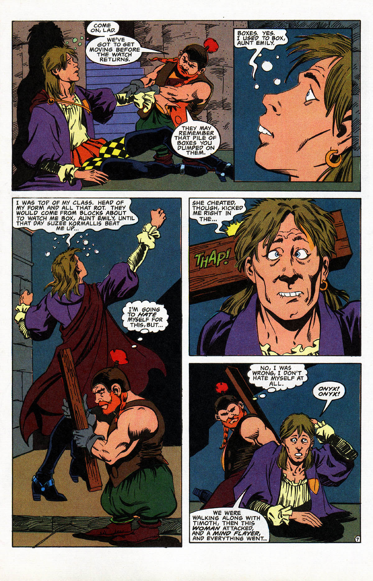 Read online Advanced Dungeons & Dragons comic -  Issue #10 - 8