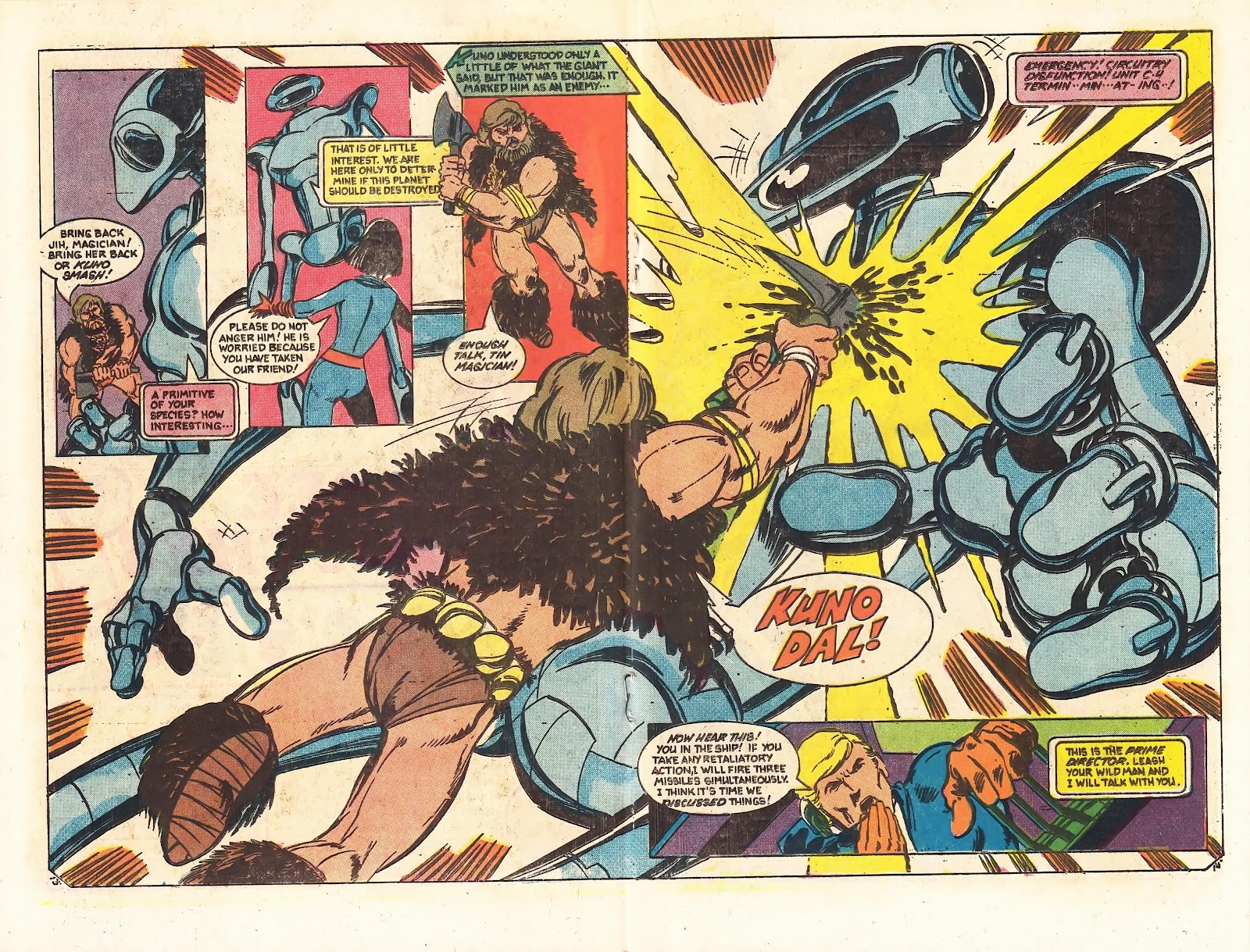 Read online Doomsday   1 (1975) comic -  Issue #3 - 18