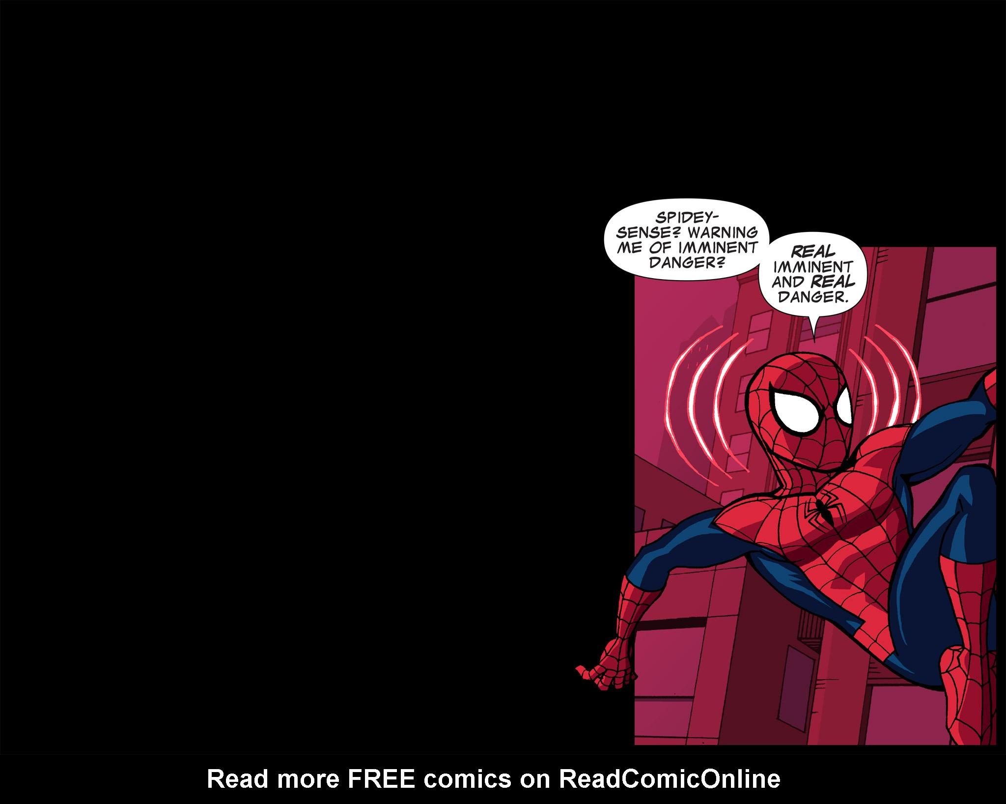 Read online Ultimate Spider-Man (Infinite Comics) (2015) comic -  Issue #5 - 13