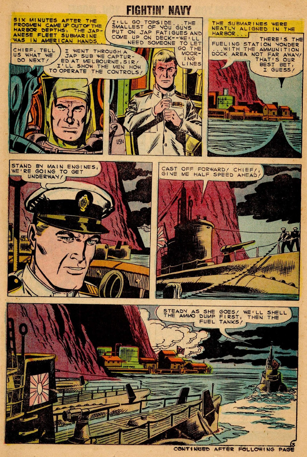 Read online Fightin' Navy comic -  Issue #90 - 14