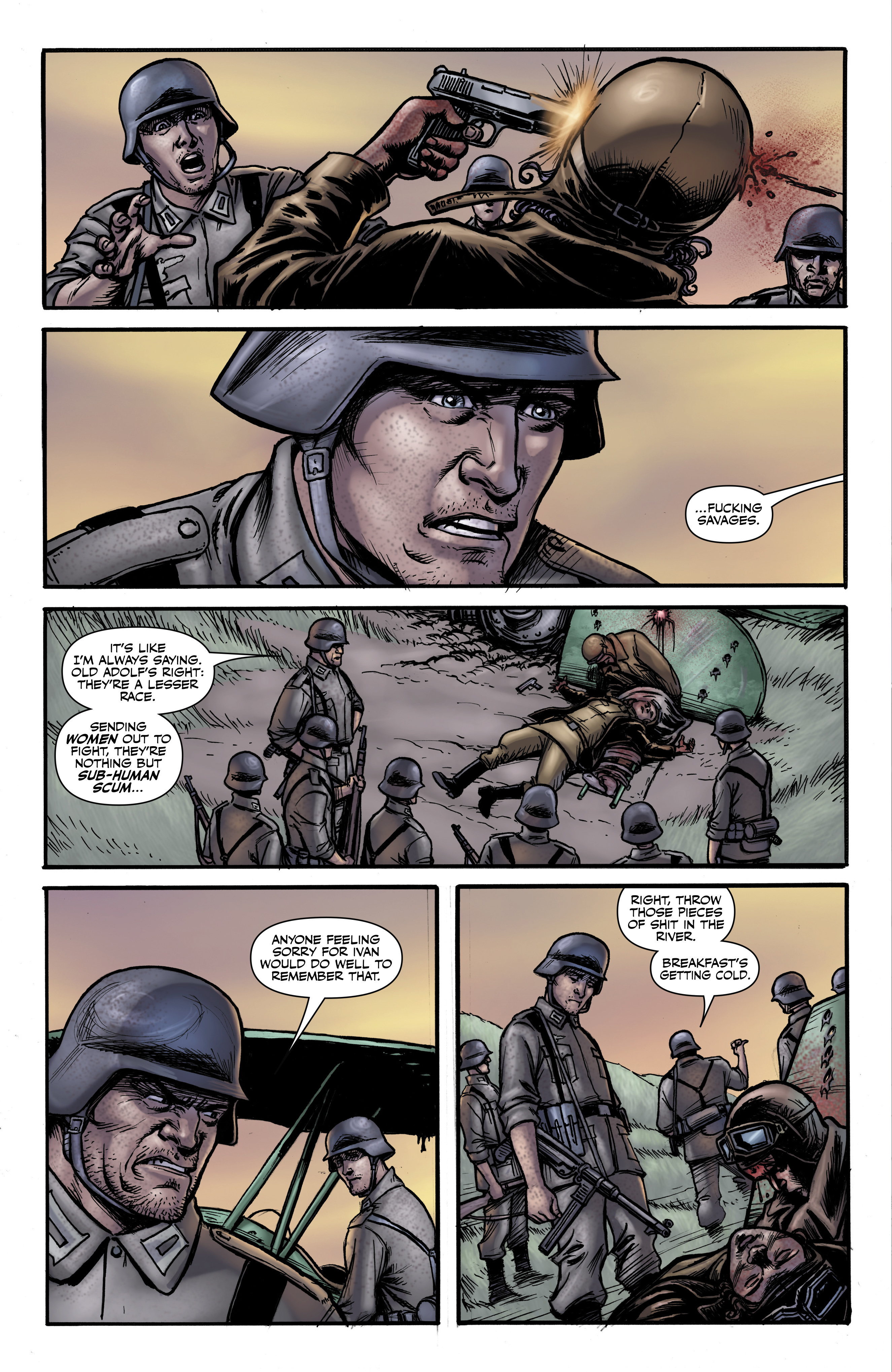 Read online Battlefields: Night Witches comic -  Issue # TPB - 25