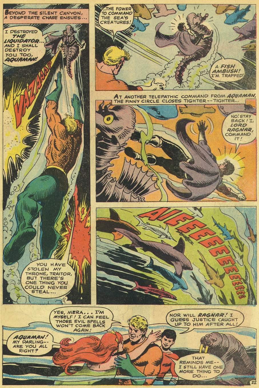 Read online Aquaman (1962) comic -  Issue #38 - 31
