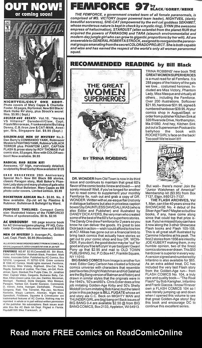 Femforce 97 Page 2