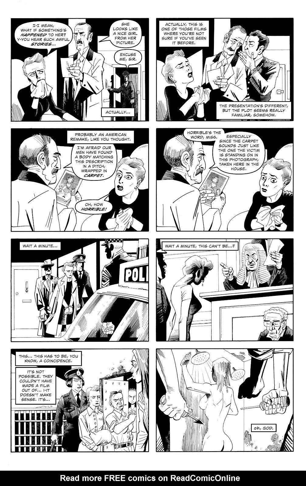 Read online Alan Moore's Cinema Purgatorio comic -  Issue #18 - 8