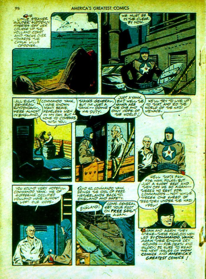 Read online America's Greatest Comics comic -  Issue #4 - 99