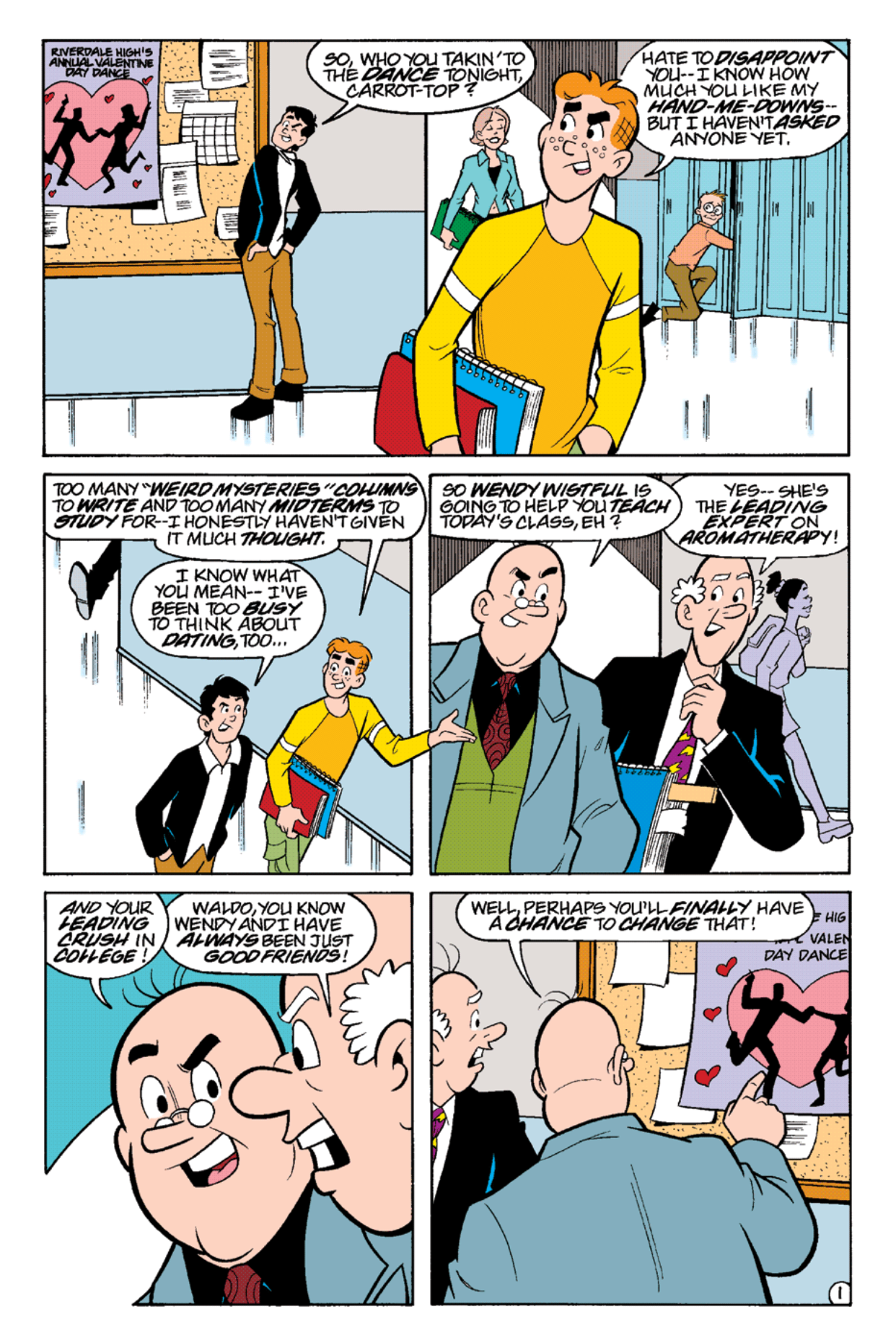 Read online Archie's Weird Mysteries comic -  Issue #19 - 3