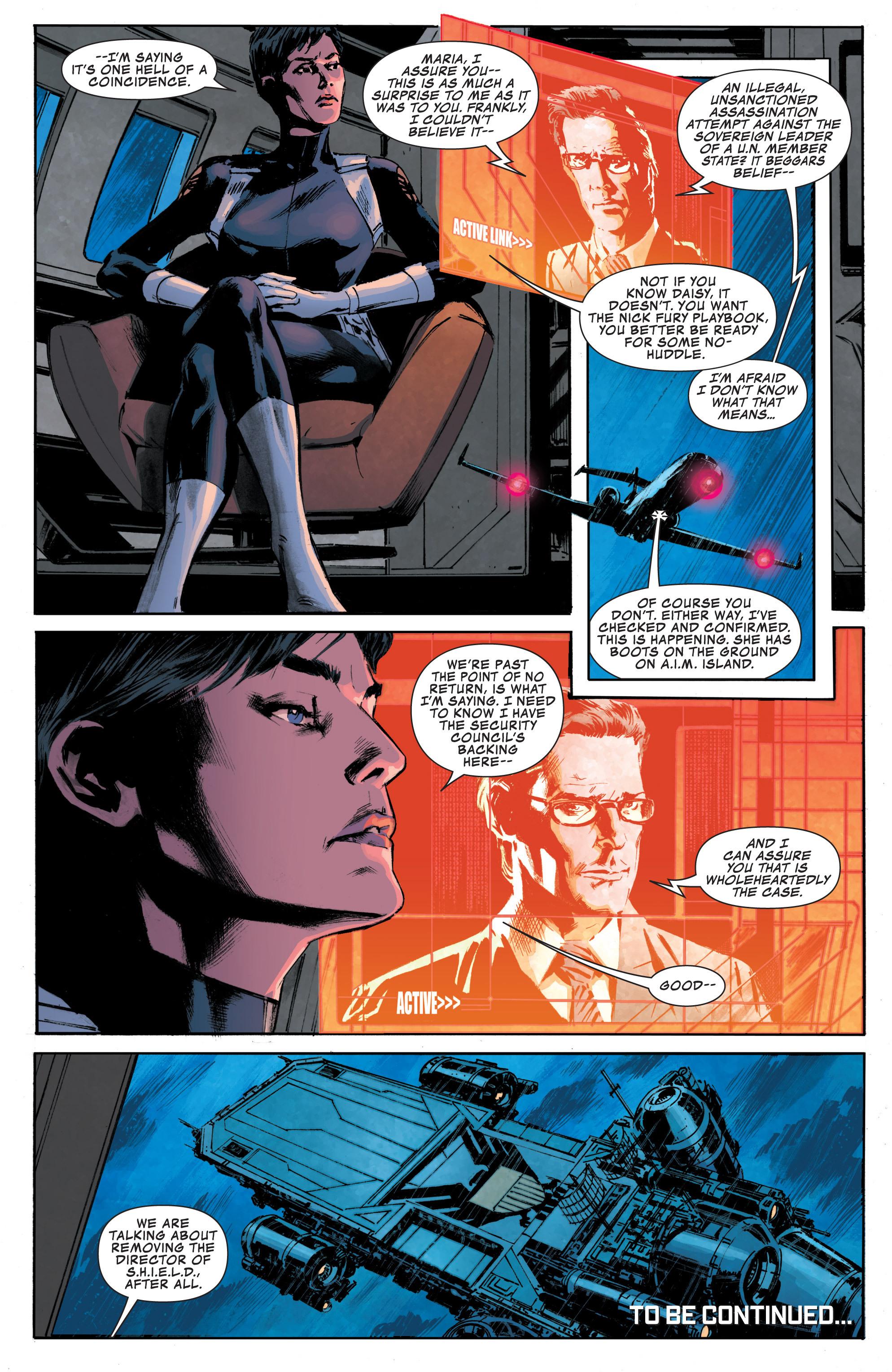 Read online Secret Avengers (2013) comic -  Issue #6 - 22