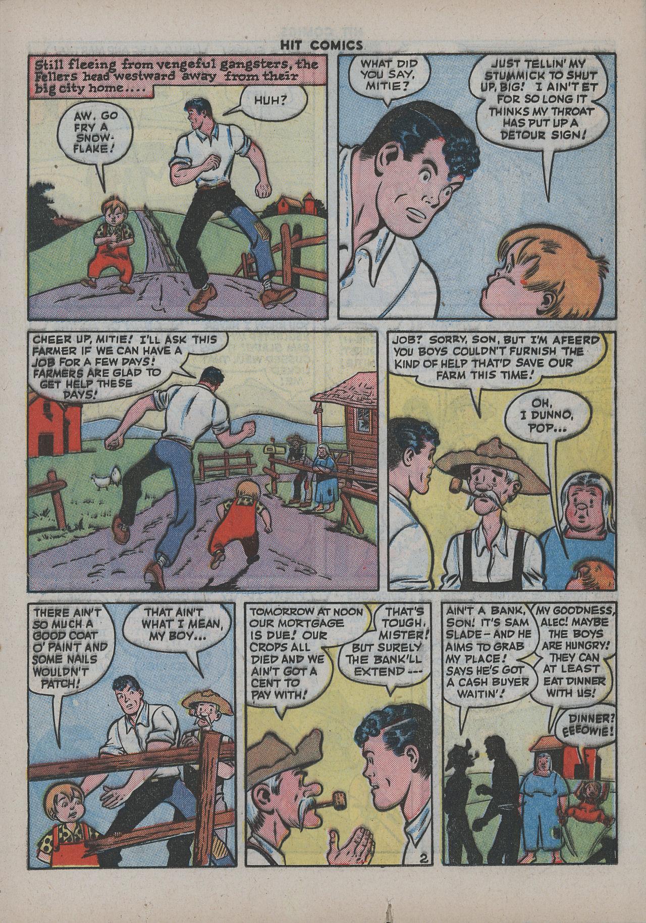 Read online Hit Comics comic -  Issue #38 - 34
