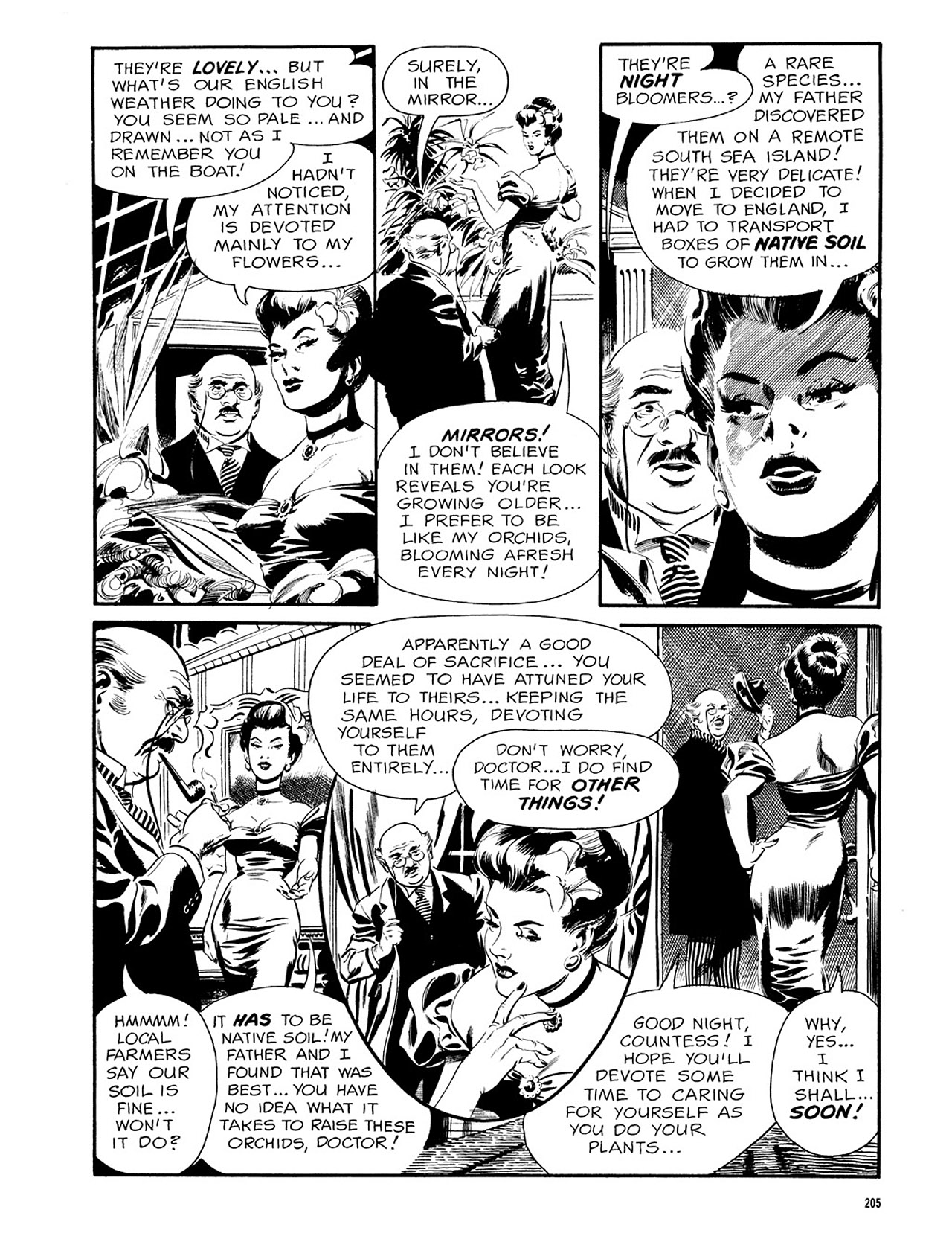 Read online Eerie Archives comic -  Issue # TPB 3 - 206
