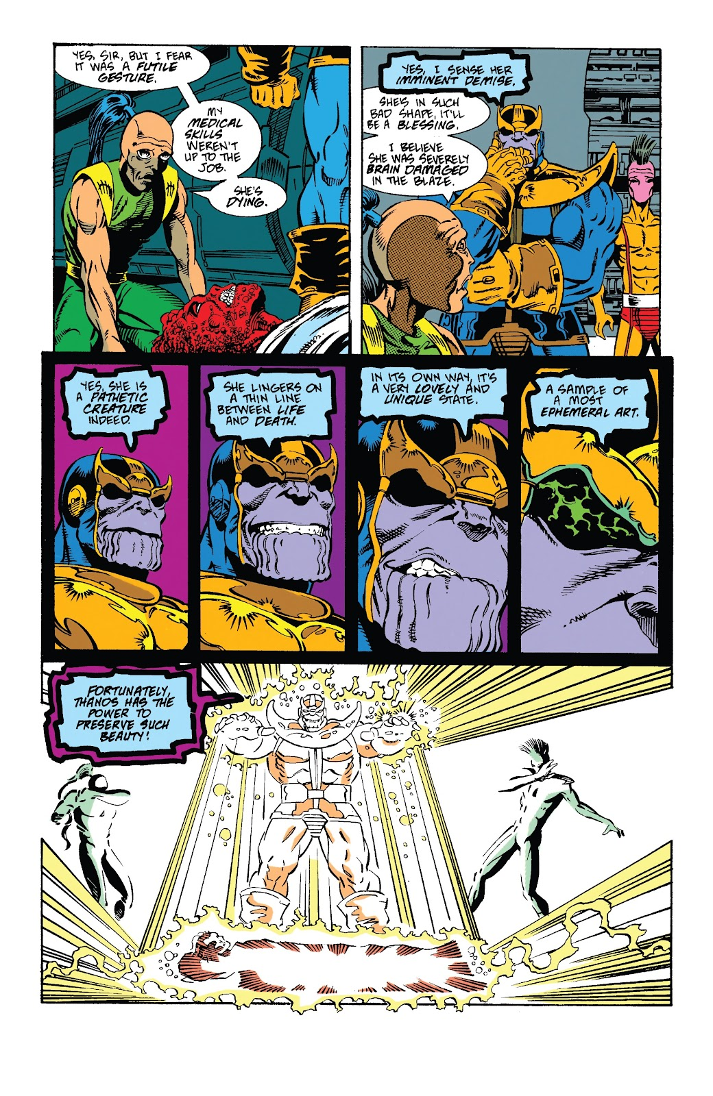 Read online Marvel Tales: Thanos comic -  Issue # Full - 32