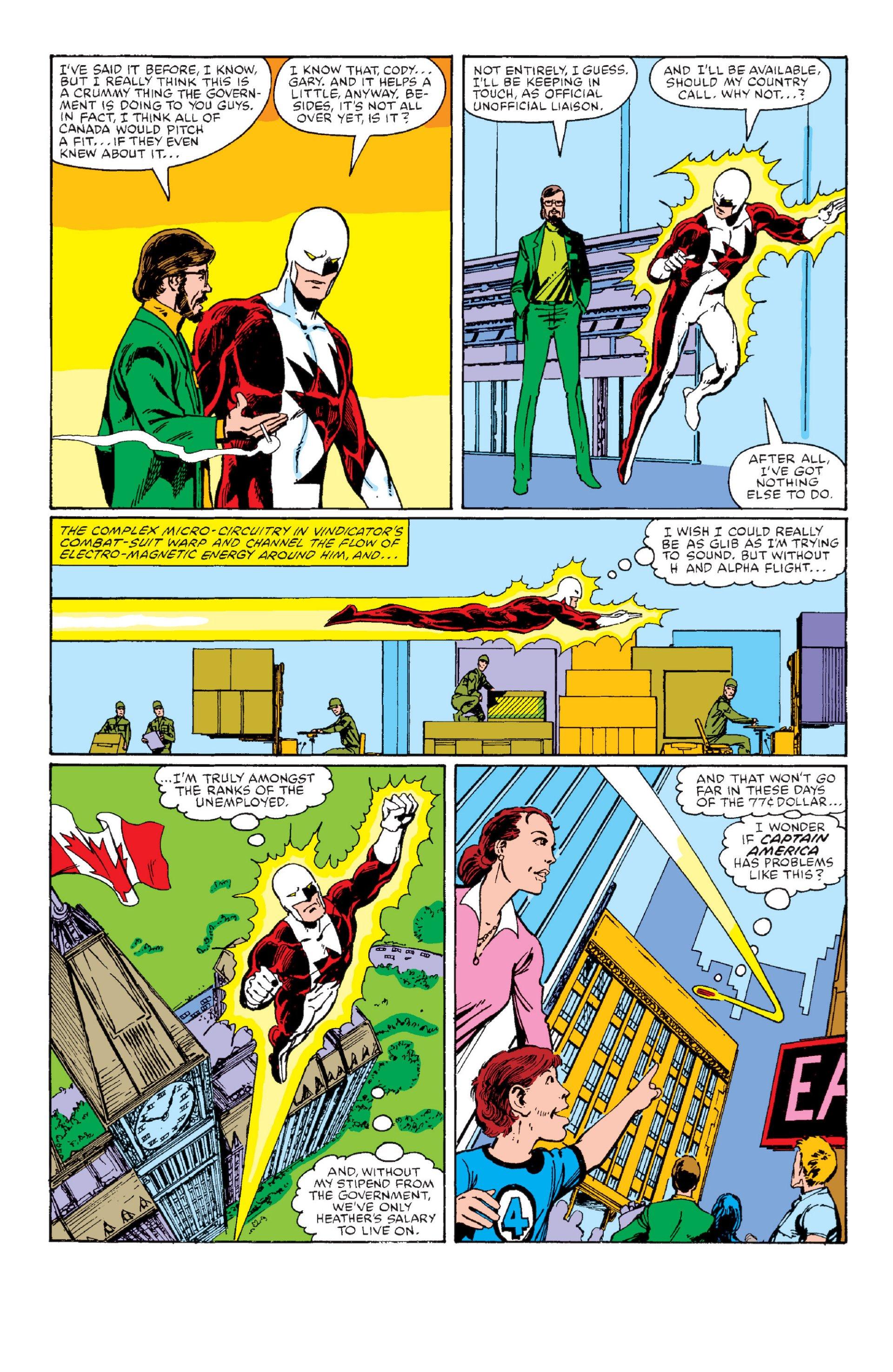 Read online Alpha Flight (1983) comic -  Issue #1 - 5