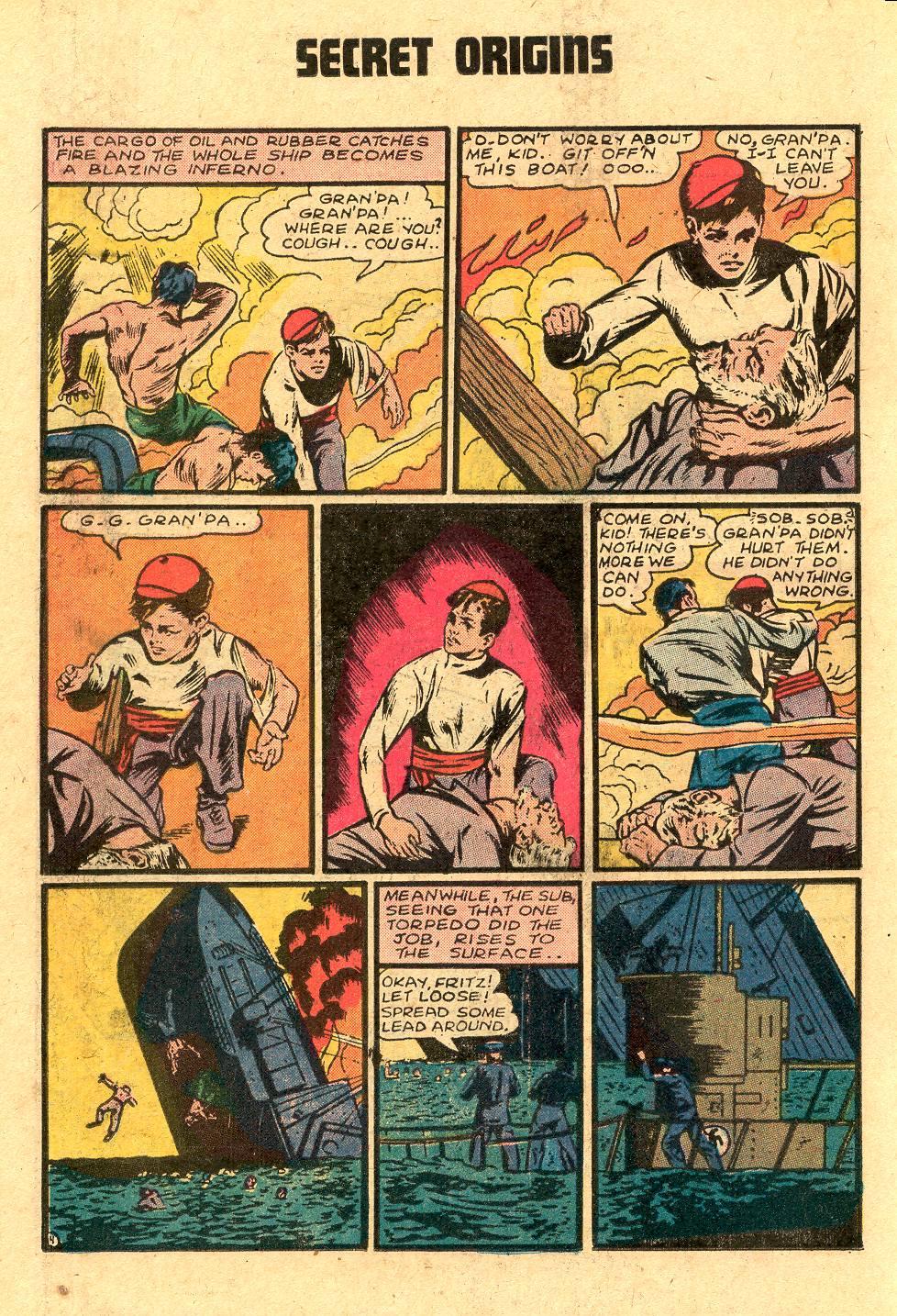 Read online Secret Origins (1973) comic -  Issue #4 - 18