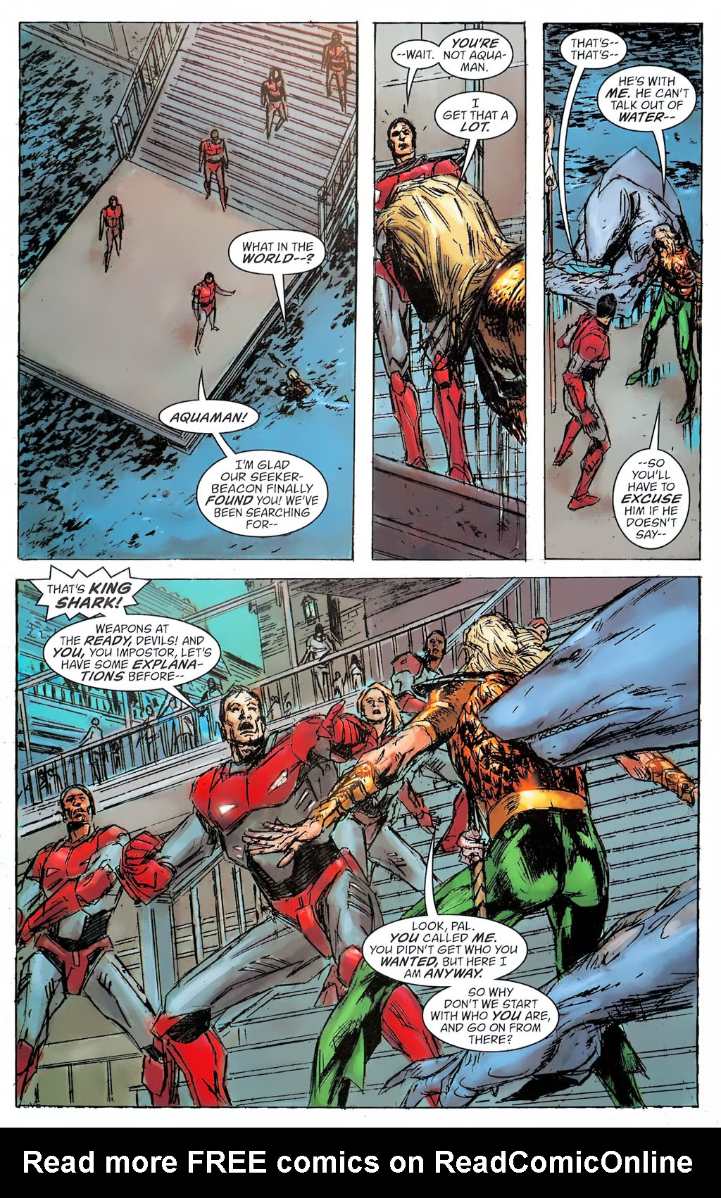 Read online Aquaman: Sword of Atlantis comic -  Issue #42 - 18
