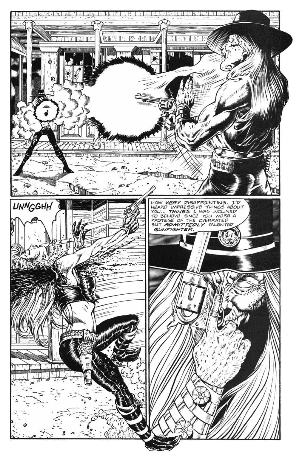 Read online Gunfighters in Hell comic -  Issue #5 - 32