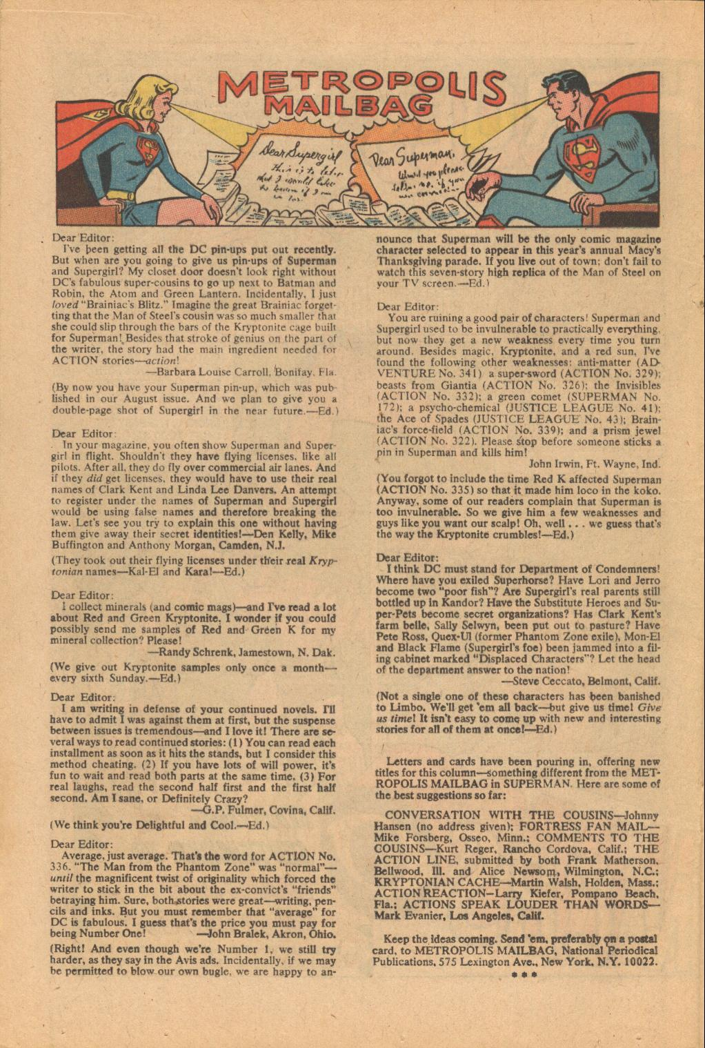 Read online Action Comics (1938) comic -  Issue #342 - 19