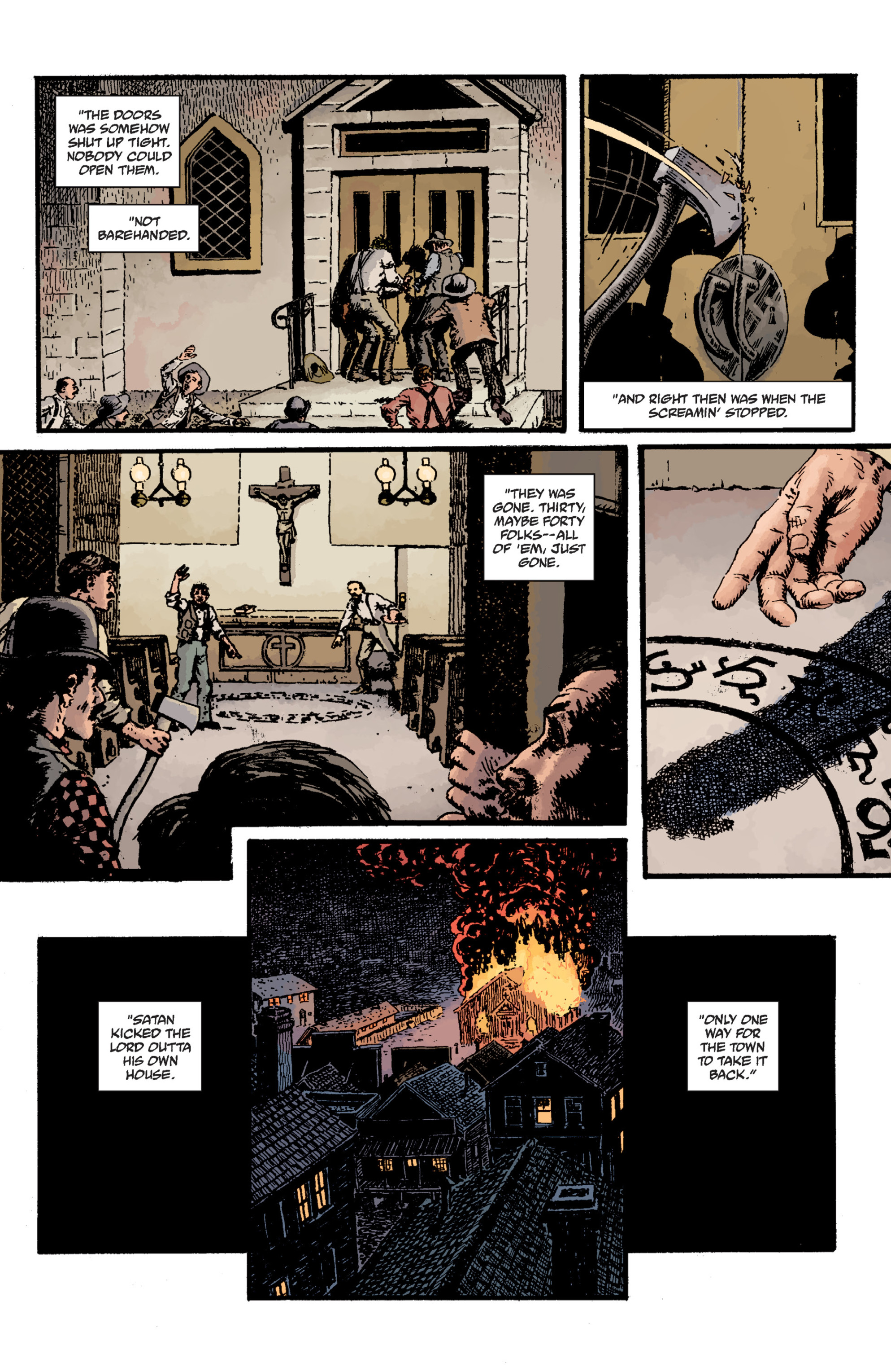 Read online Sir Edward Grey, Witchfinder: Lost and Gone Forever comic -  Issue # TPB - 26