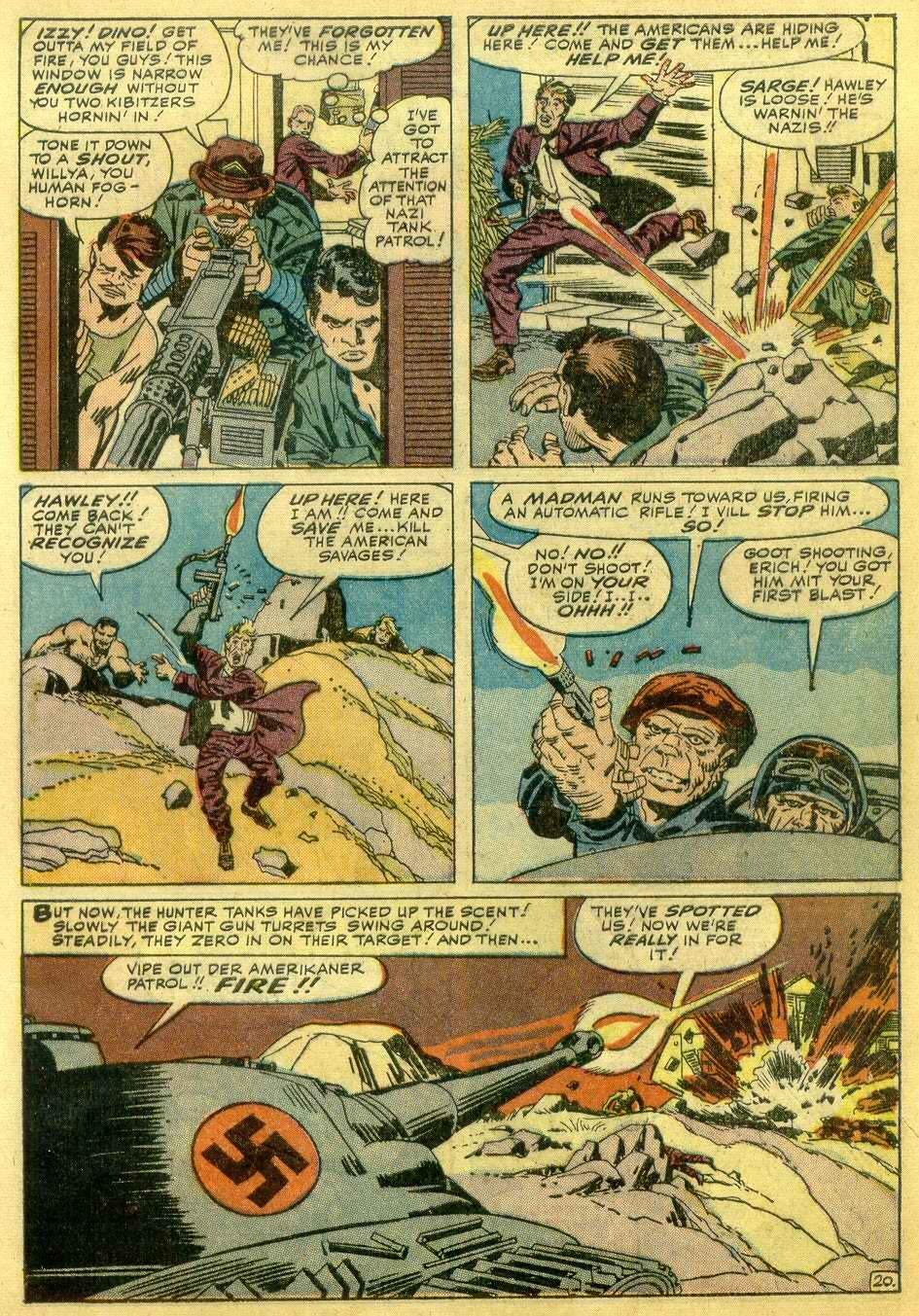 Read online Sgt. Fury comic -  Issue # _Annual 1 - 43