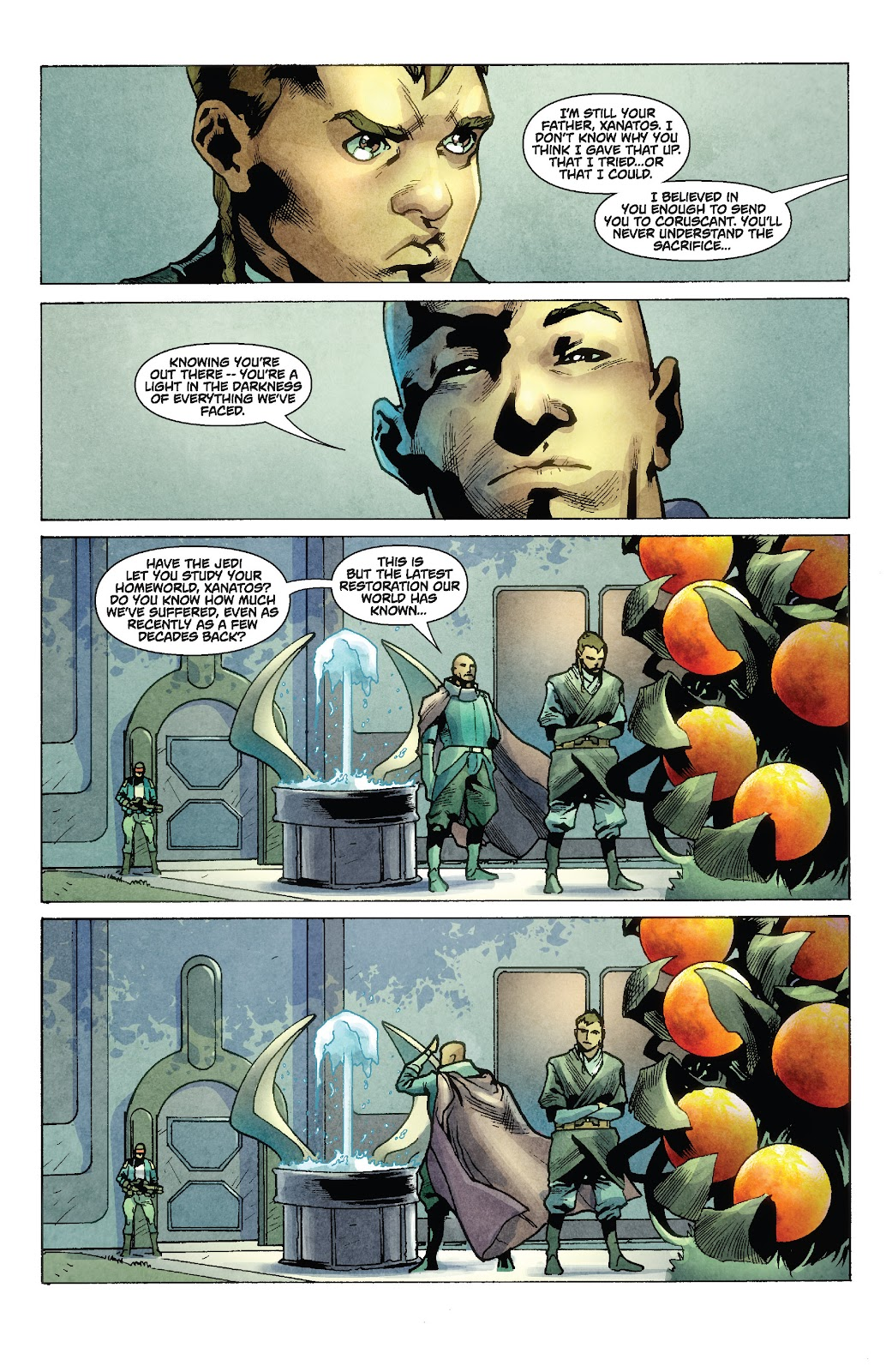 Read online Star Wars Legends: Rise of the Sith - Epic Collection comic -  Issue # TPB 1 (Part 2) - 14