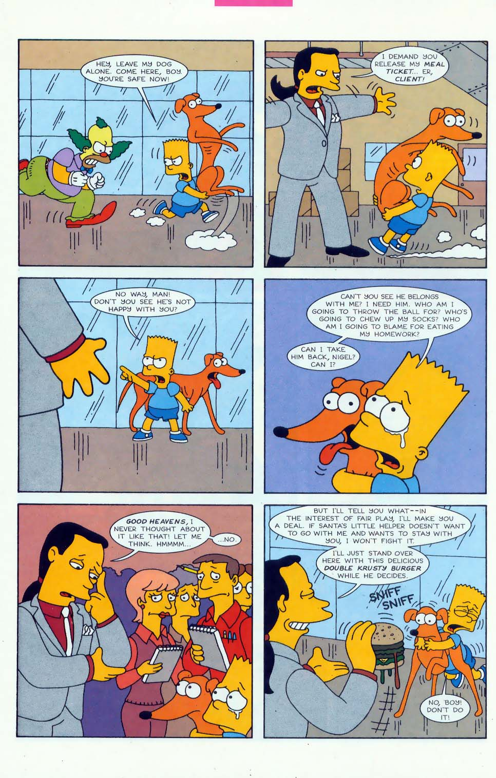 Read online Simpsons Comics comic -  Issue #45 - 19