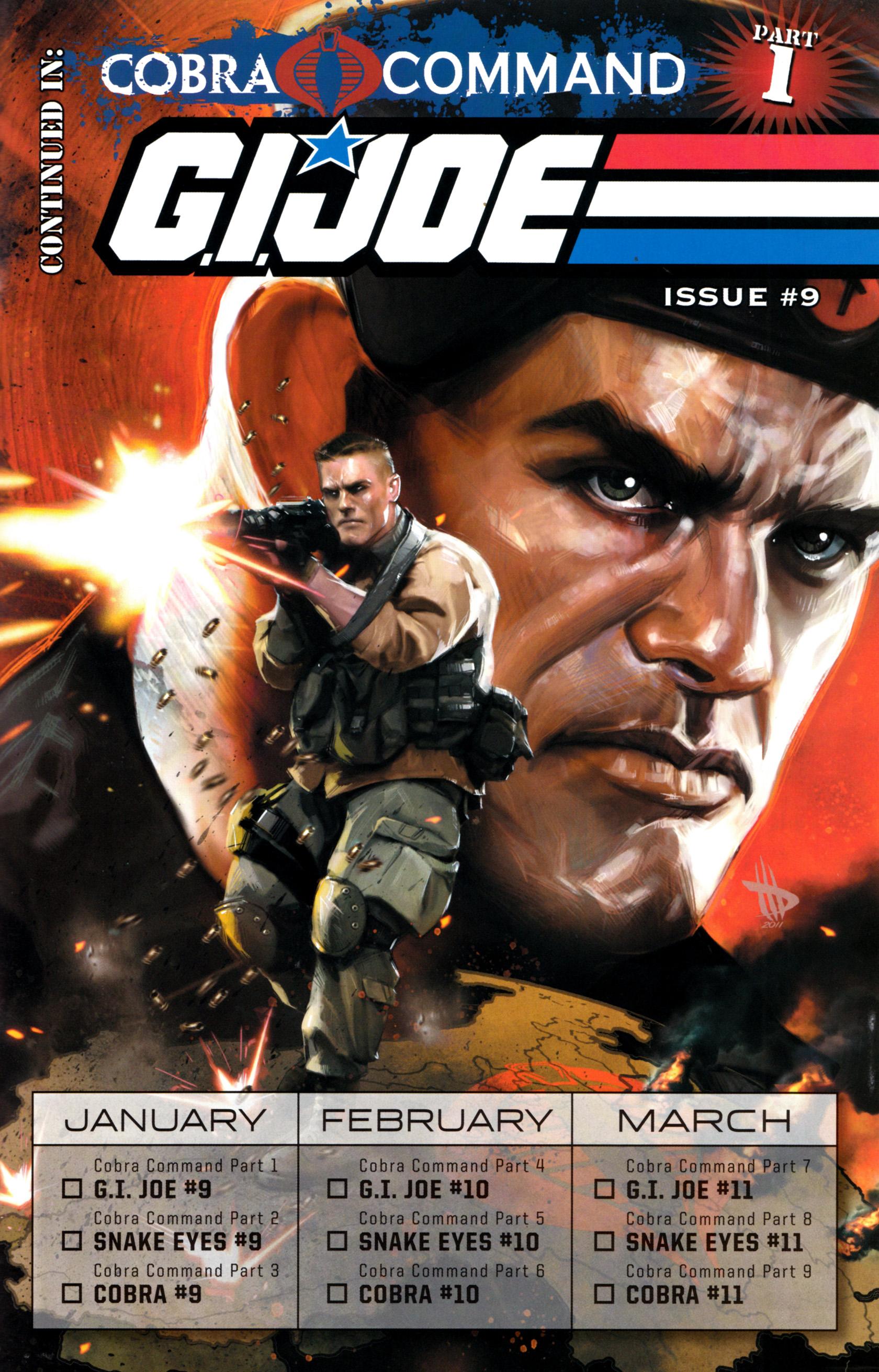 Read online G.I. Joe: Snake Eyes comic -  Issue #8 - 26