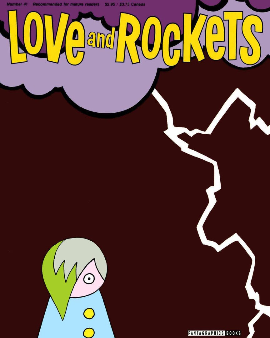 Love and Rockets (1982) issue 41 - Page 1