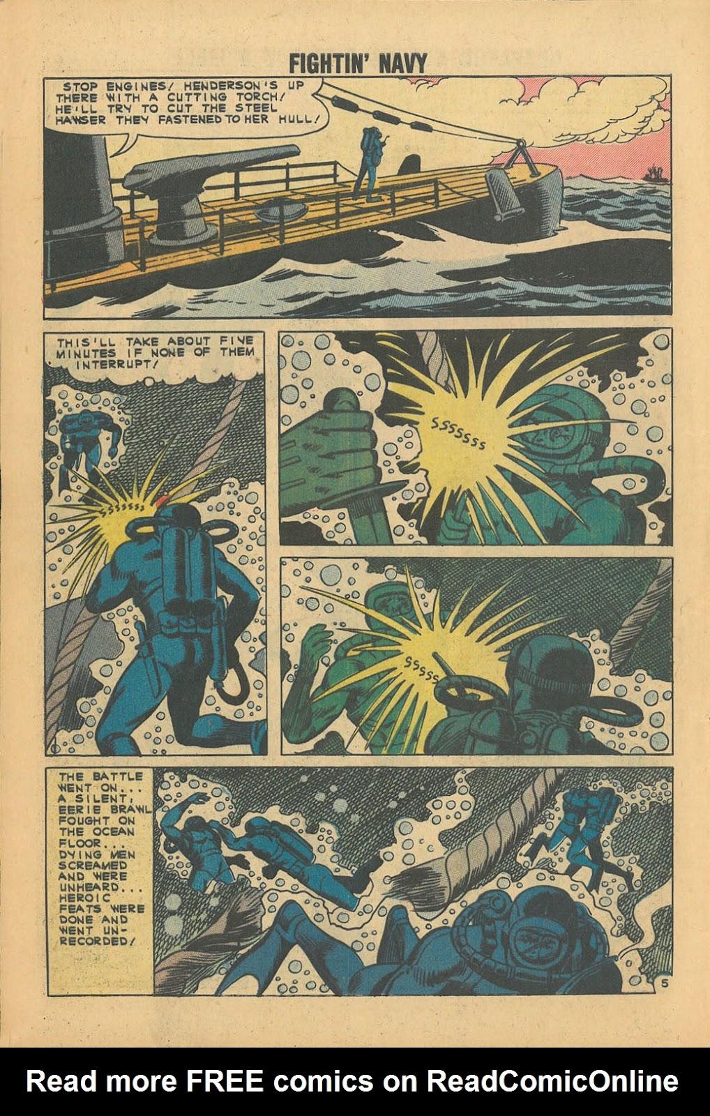 Read online Fightin' Navy comic -  Issue #100 - 8