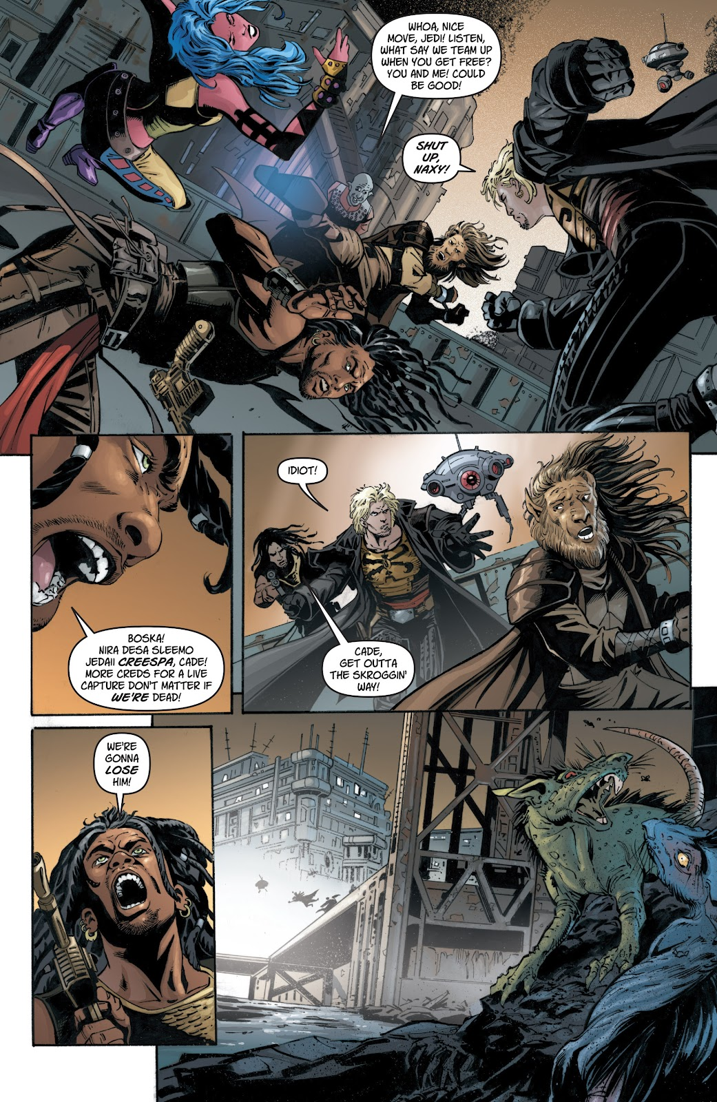 Read online Star Wars Legends: Legacy - Epic Collection comic -  Issue # TPB 1 (Part 1) - 56