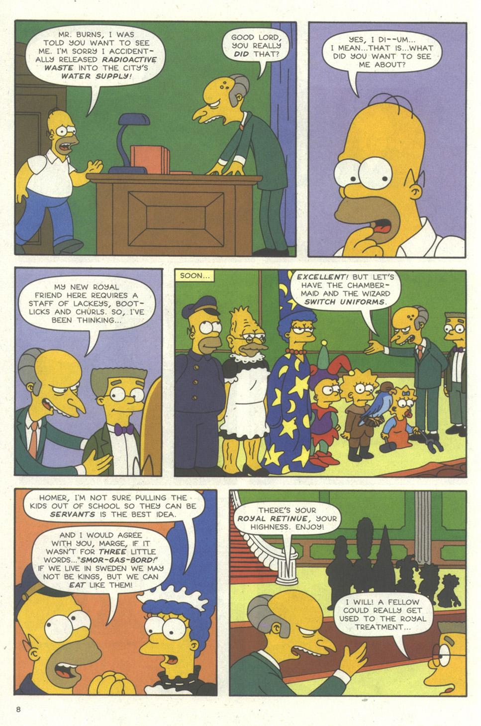 Read online Simpsons Comics comic -  Issue #56 - 9
