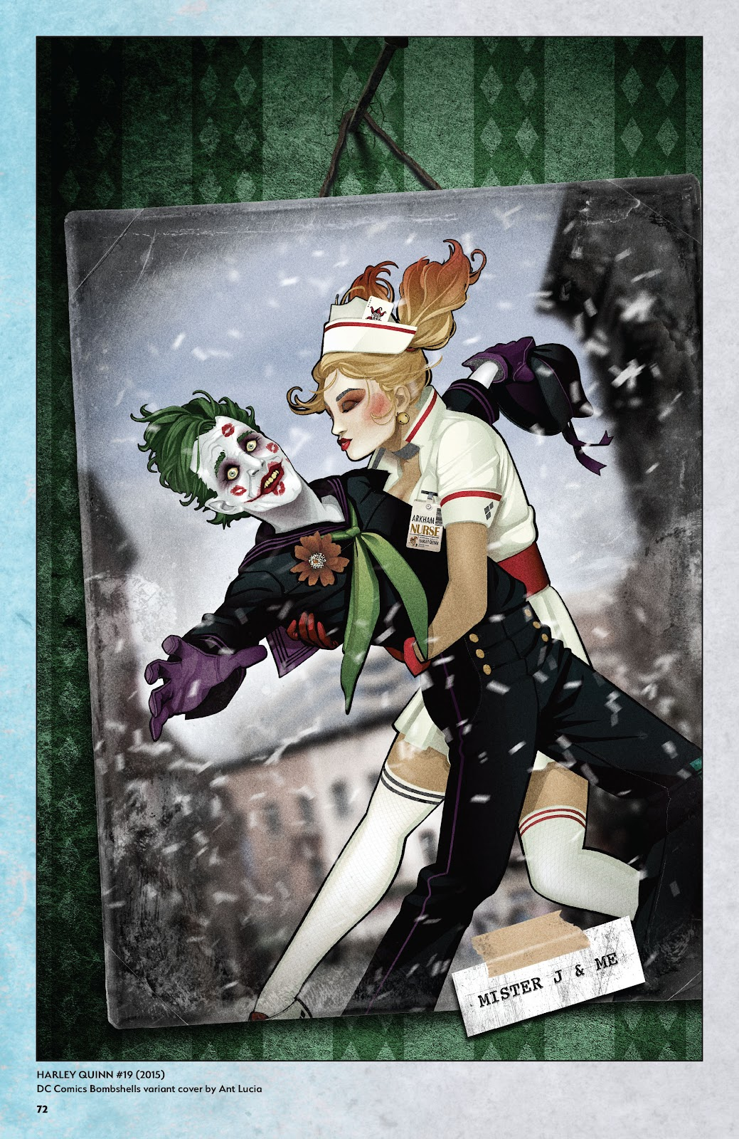 Read online Harley Quinn: A Rogue's Gallery―The Deluxe Cover Art Collection comic -  Issue # TPB (Part 1) - 69