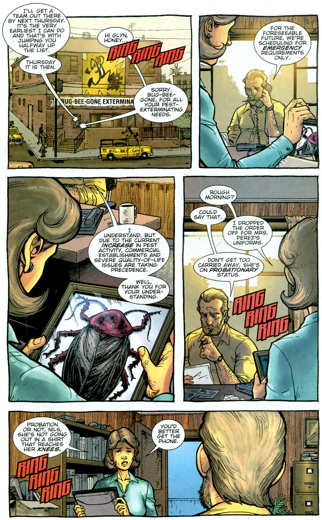 Read online The Exterminators comic -  Issue #14 - 9