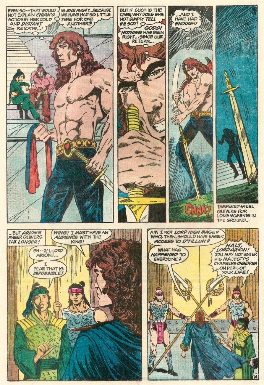 Read online Arion, Lord of Atlantis comic -  Issue #23 - 15