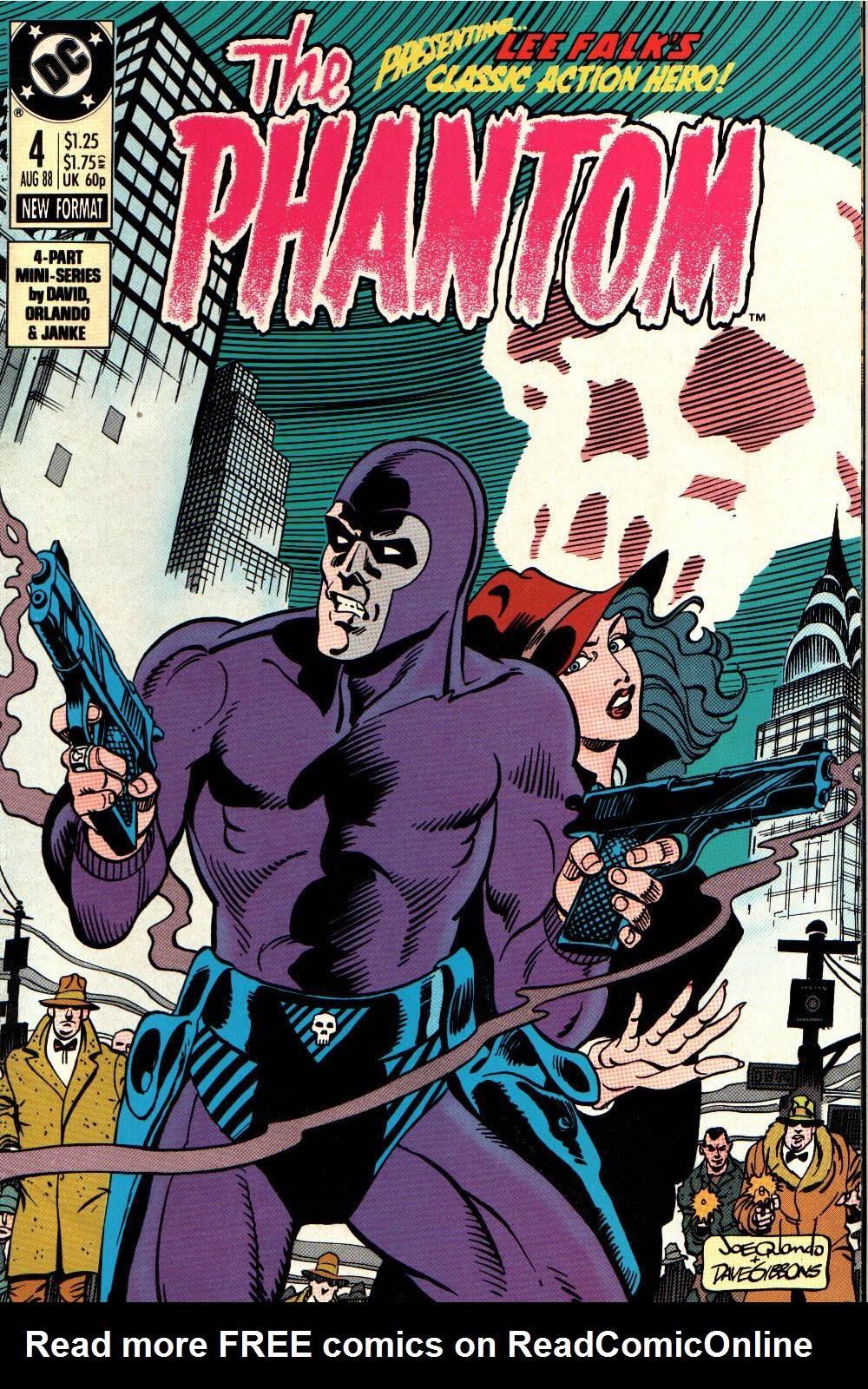 Read online The Phantom (1988) comic -  Issue #4 - 1