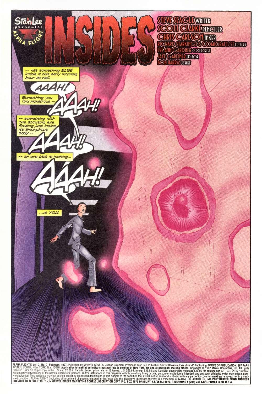 Read online Alpha Flight (1997) comic -  Issue #7 - 4