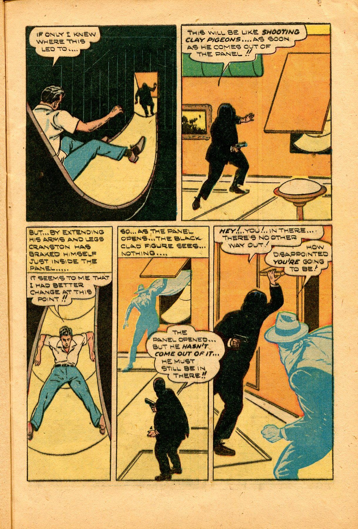 Read online Shadow Comics comic -  Issue #94 - 11