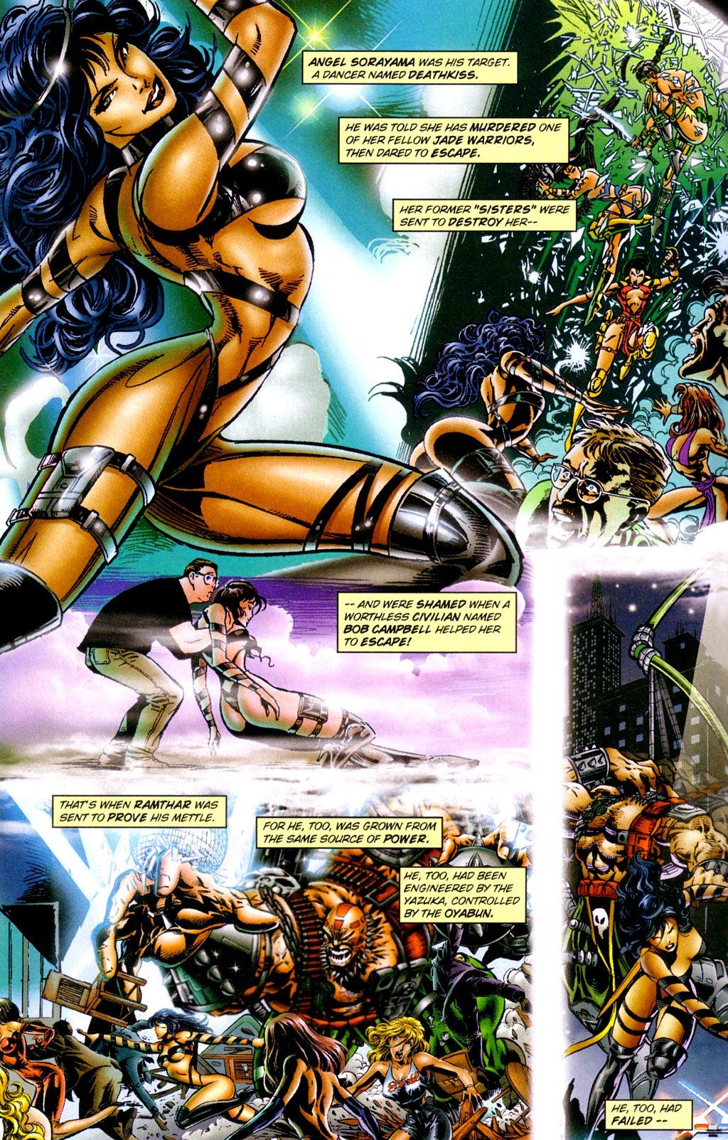 Read online Jade Warriors comic -  Issue #3 - 4