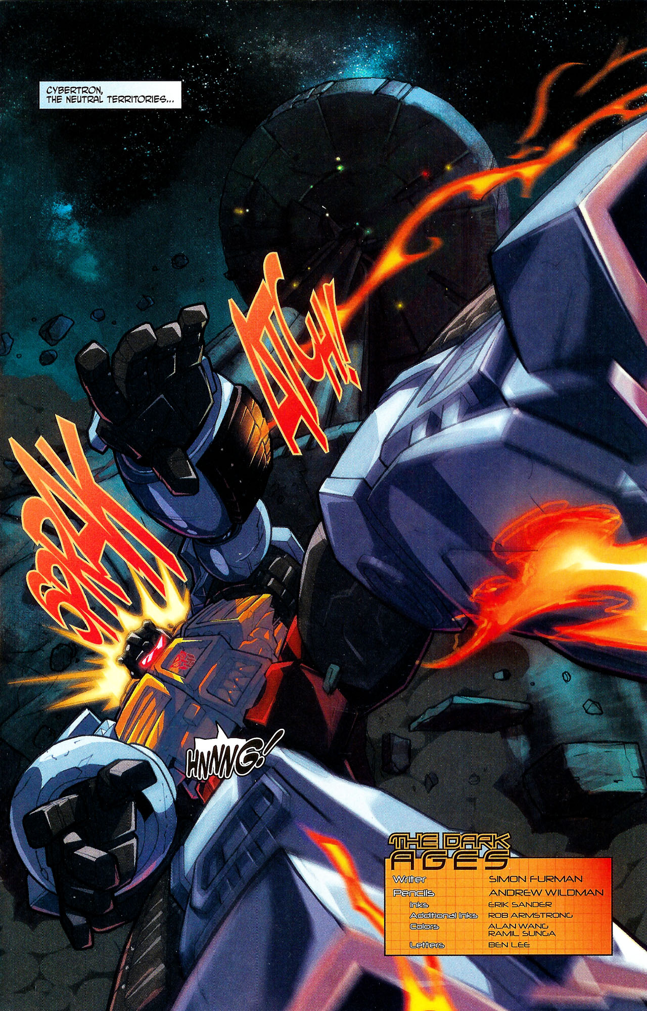 """Read online Transformers War Within: """"The Dark Ages"""" comic -  Issue #5 - 2"""