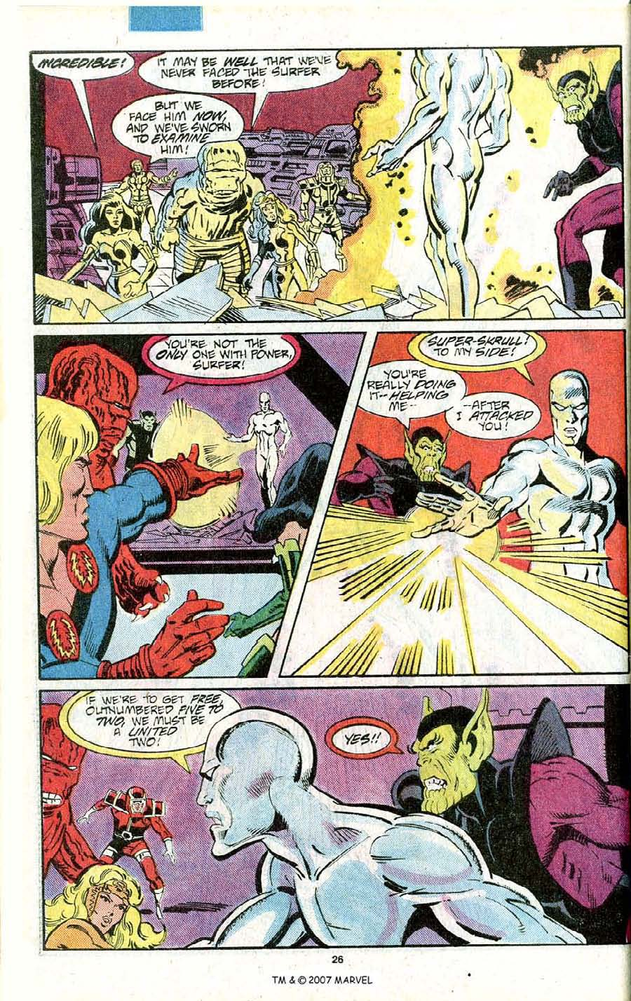 Read online Silver Surfer (1987) comic -  Issue # _Annual 1 - 28