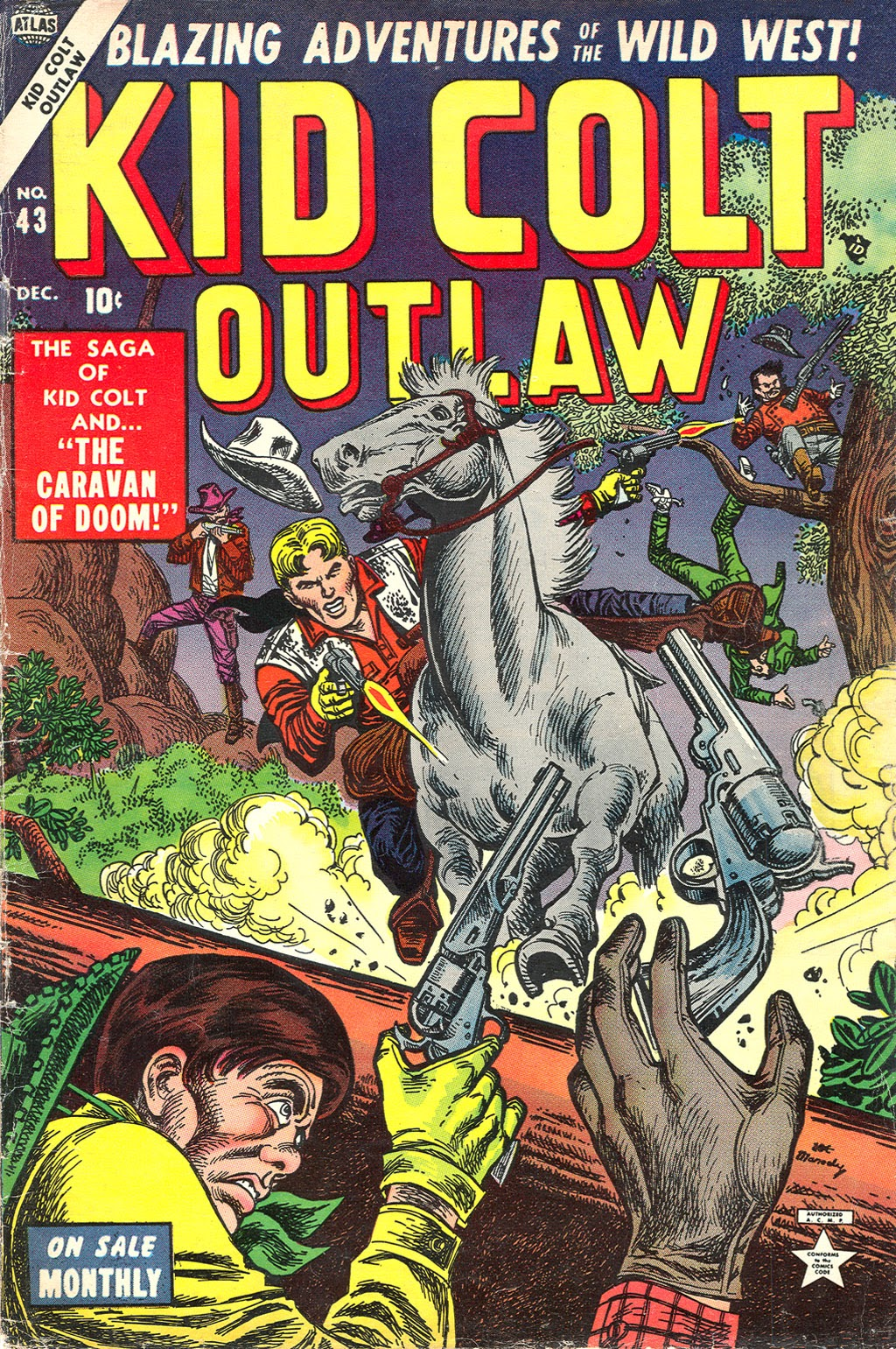 Kid Colt Outlaw issue 43 - Page 1