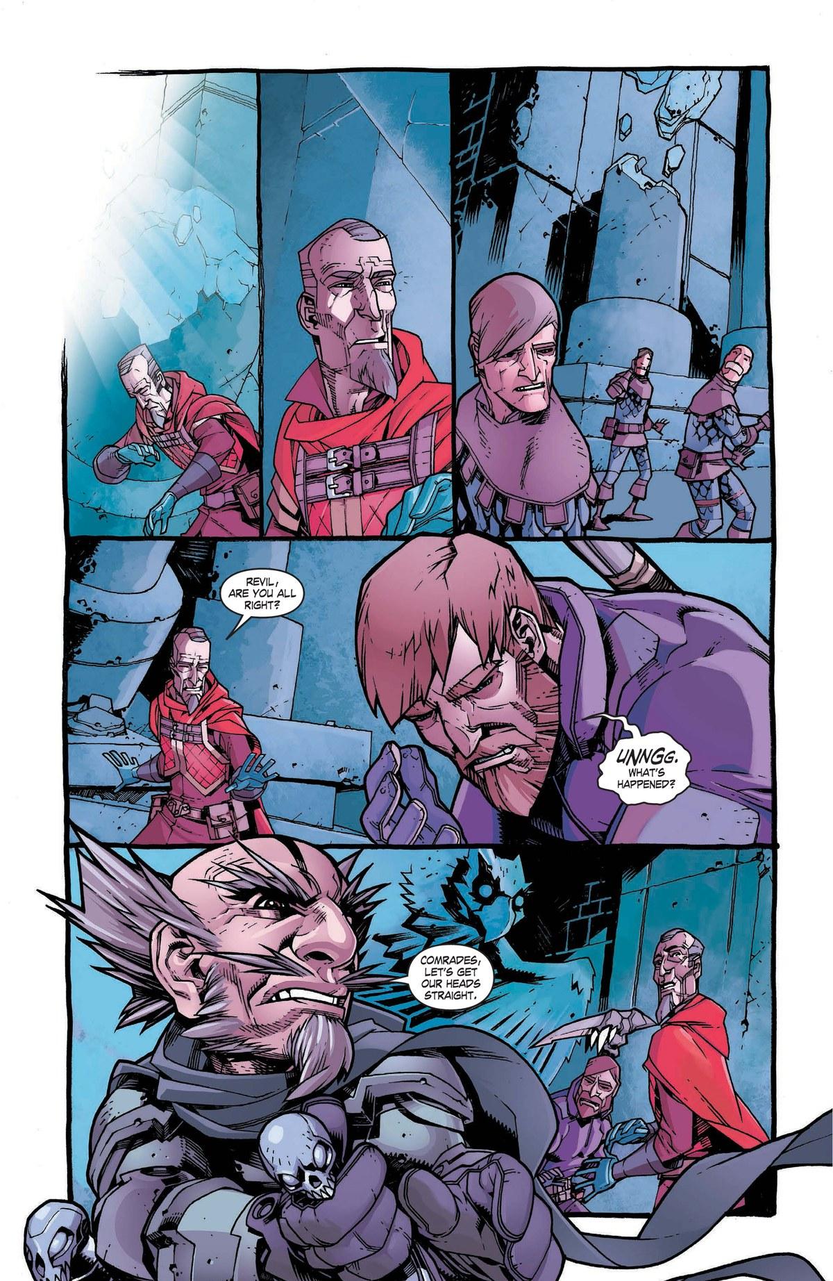 Read online World of Warcraft: Dark Riders comic -  Issue # Full - 102