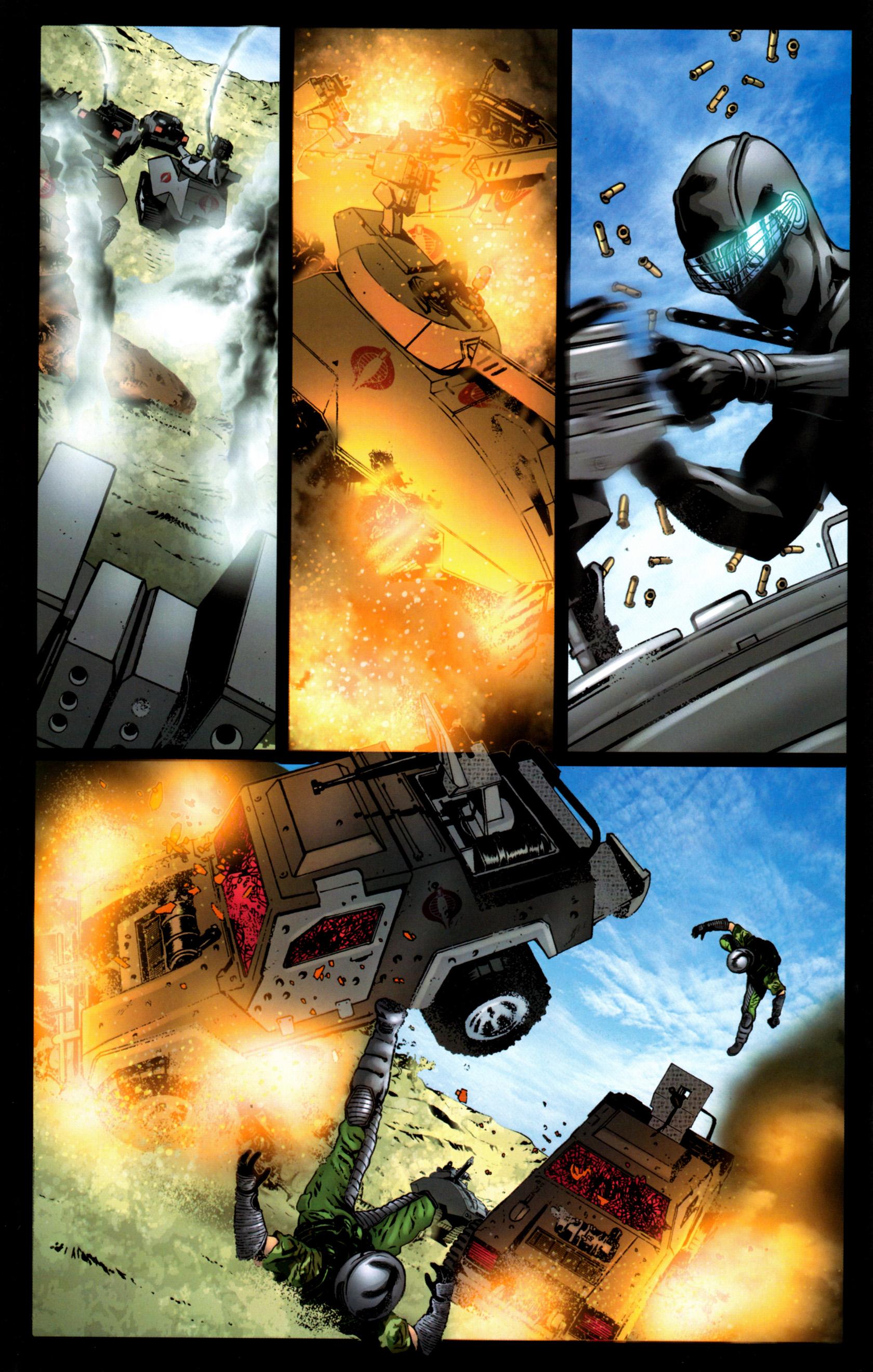 Read online G.I. Joe: Snake Eyes comic -  Issue #9 - 11