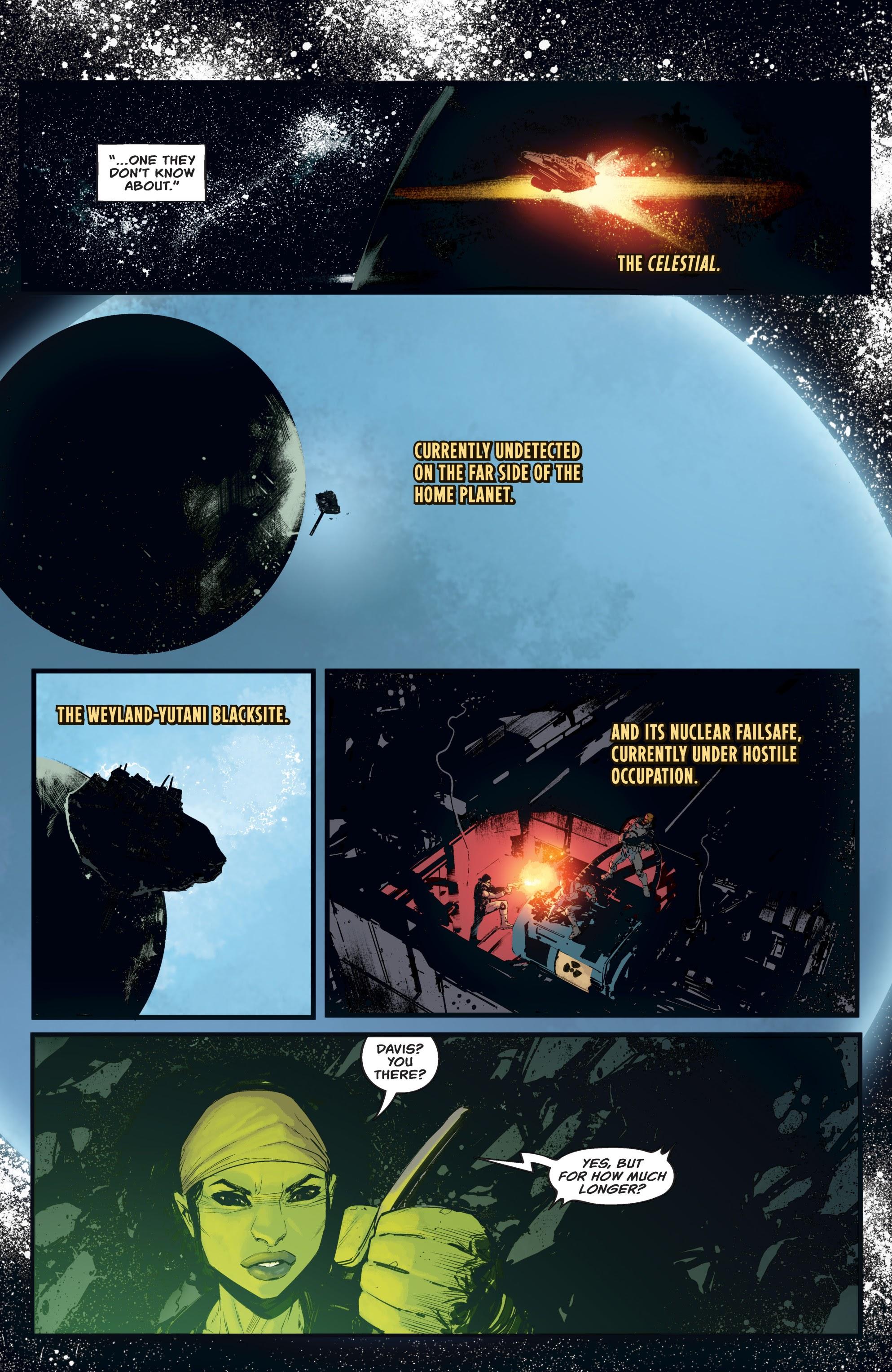 Read online Aliens: Resistance comic -  Issue # _TPB - 82