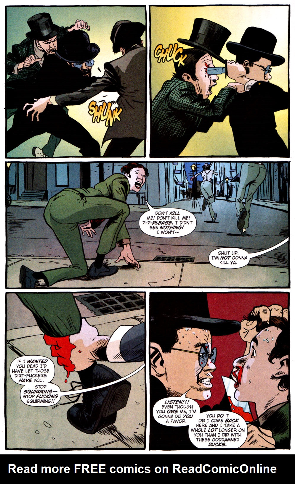 Read online Caper comic -  Issue #3 - 10