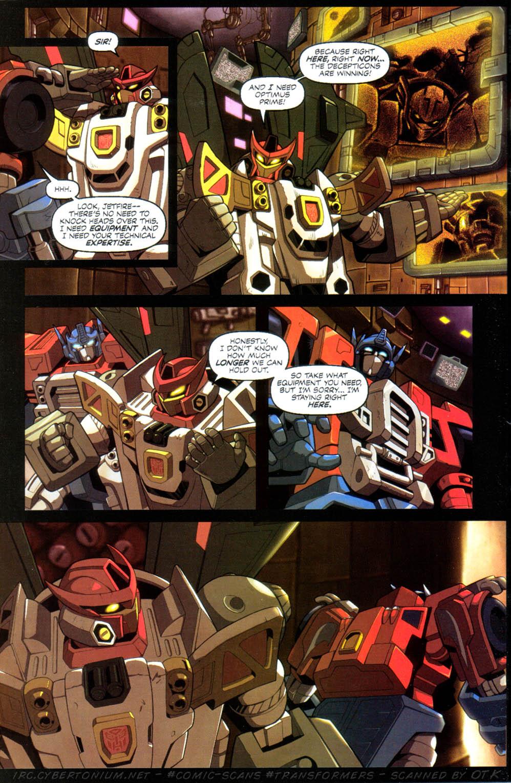 Read online Transformers Armada comic -  Issue #10 - 12