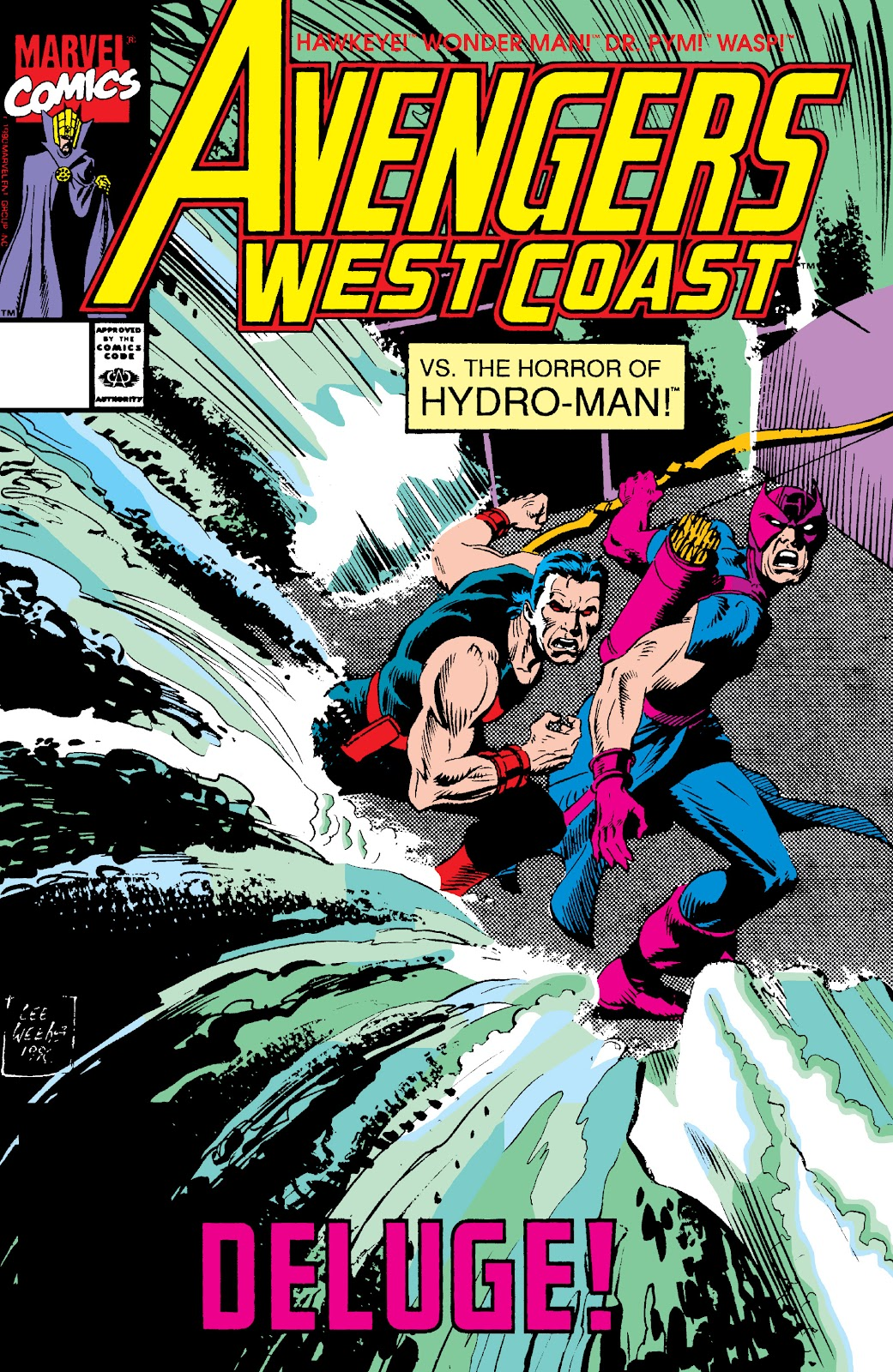 Avengers West Coast (1989) issue 59 - Page 1
