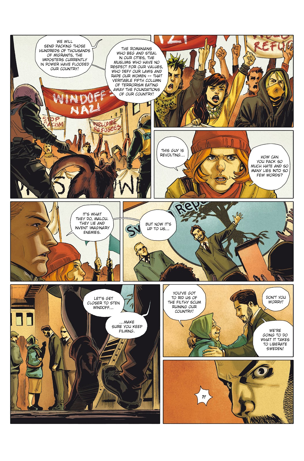 Read online Millennium: The Girl Who Danced With Death comic -  Issue #1 - 10